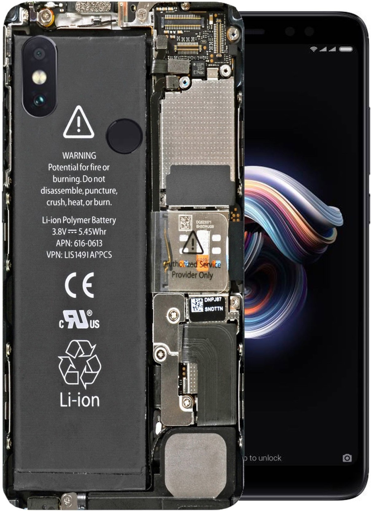 FASHIORE Back Cover for Mi Redmi Note 5 Pro - FASHIORE : Flipkart com