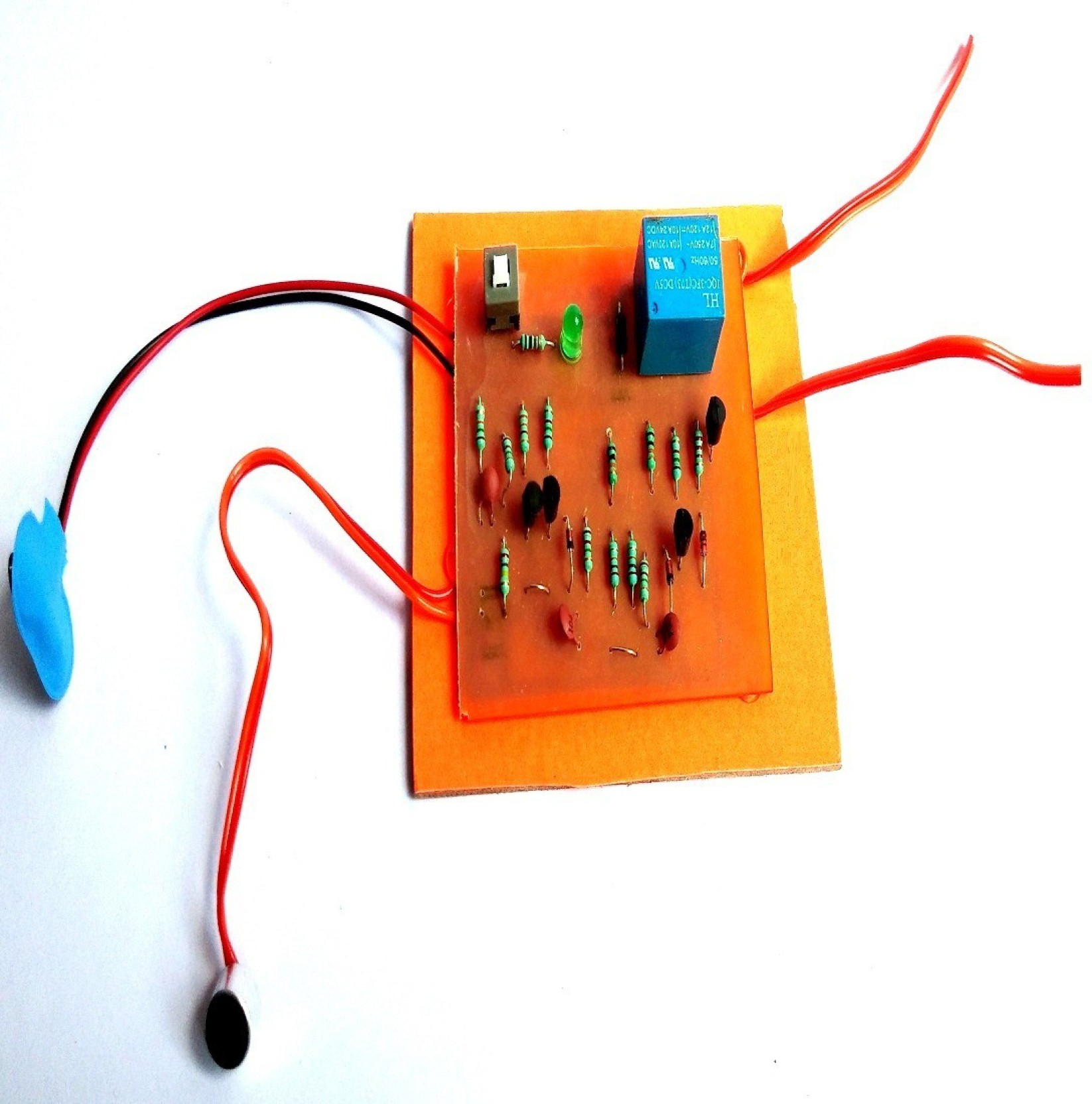 Electronic Circuit Diagram Of Clap Switch