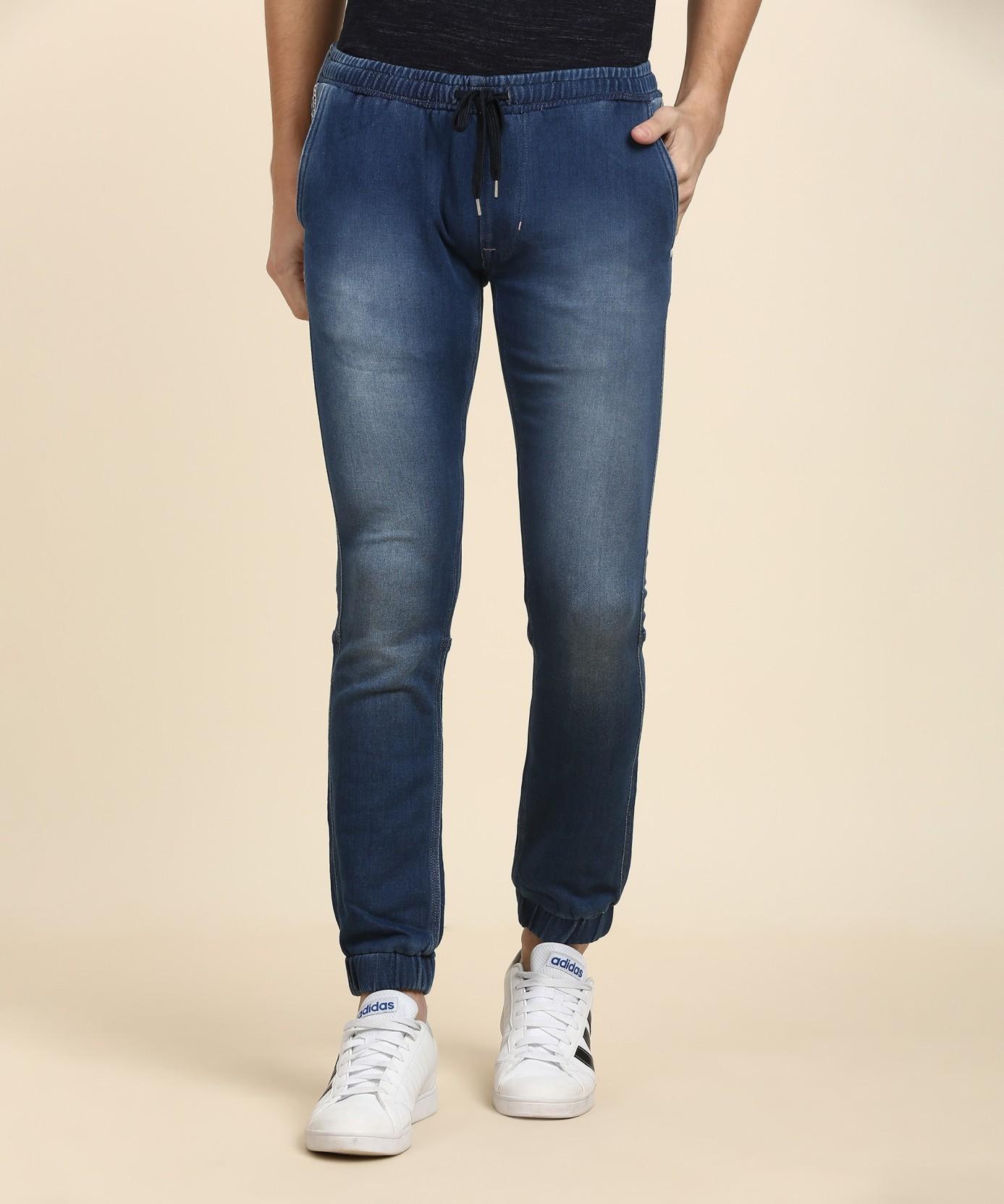 c54d98bf Lee Jogger Fit Men's Blue Jeans - Buy KNITTED BRUSHED BLUE Lee ...