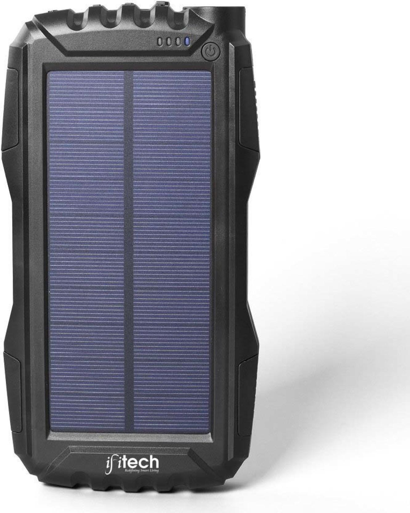 Ifitech 20000 Mah Power Bank Scpb15 20000mah Solar For M Plus M5 Battery Pack 5000 Black Home