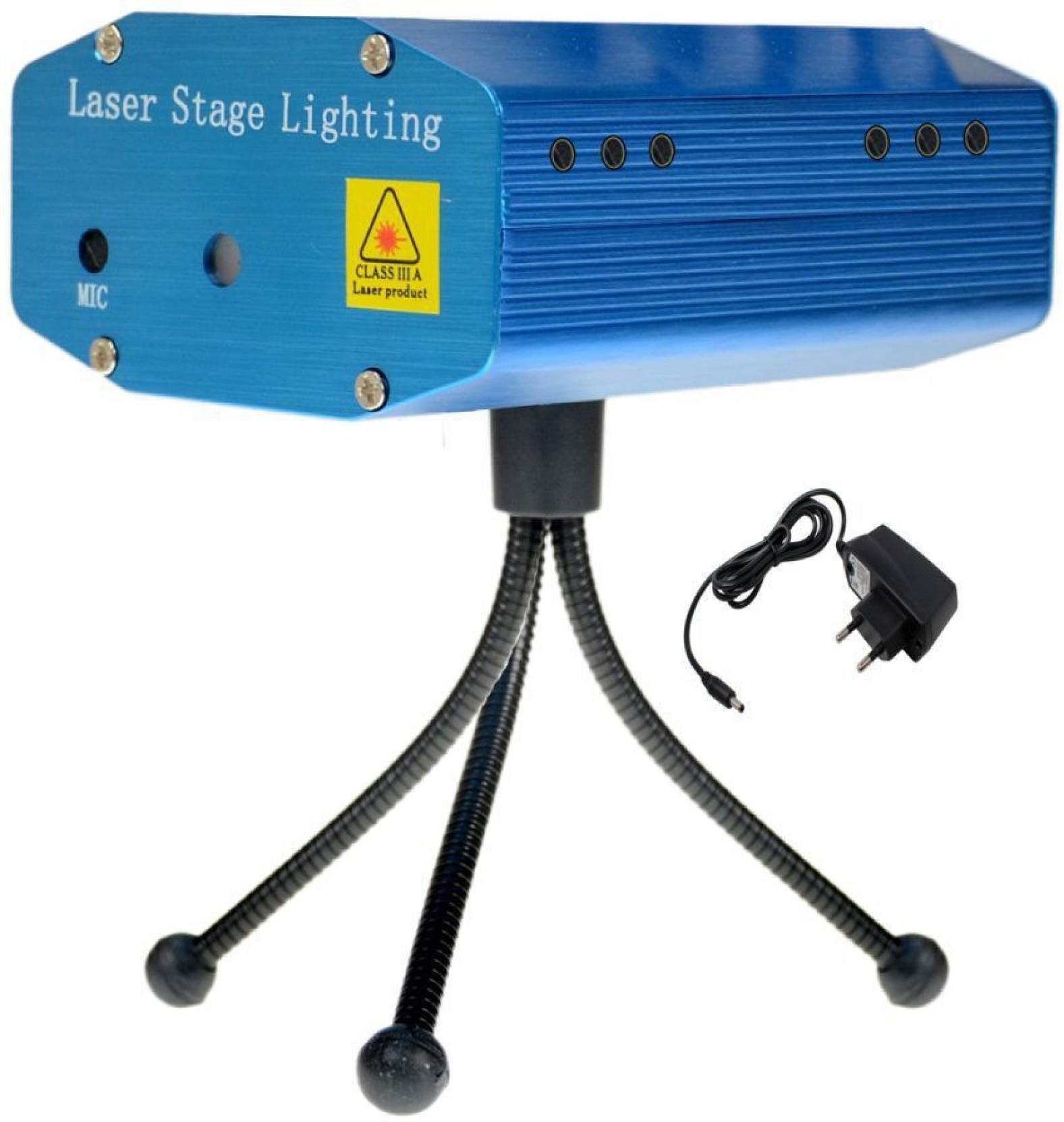 Kidland Multi Pattern Laser Mini Disco Light Projector Stage Multicolor Ampamp Tripod Blue Lighting Ball Diameter 10 Add To Cart