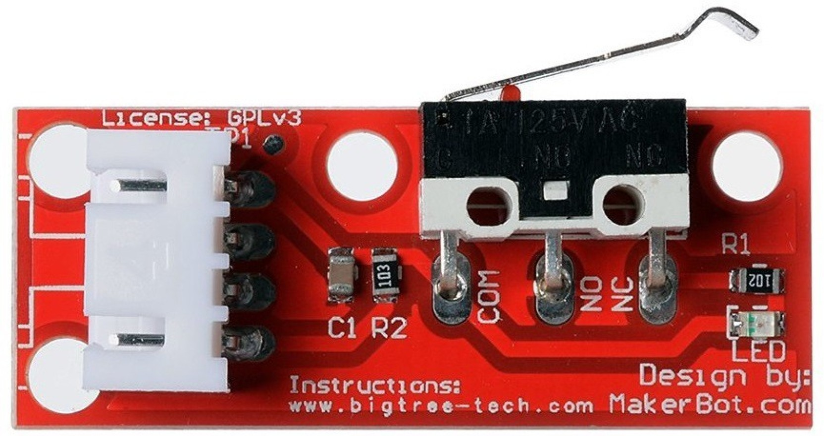 xcluma RAMPS 1 4 Endstop Switch For RepRap Mendel 3D Printer With