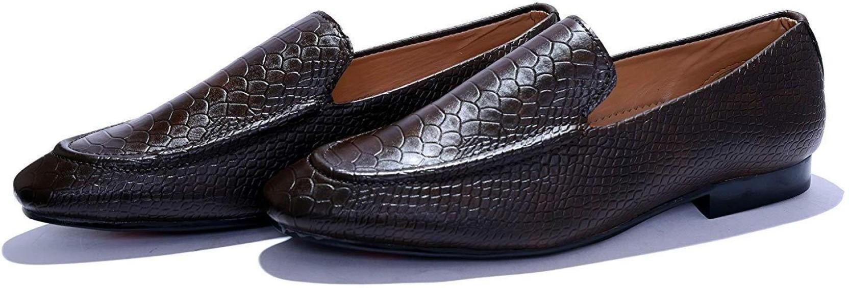 Men New Crock Slip On Black Formal//Office//Work Shoes UK Size 7.5-12