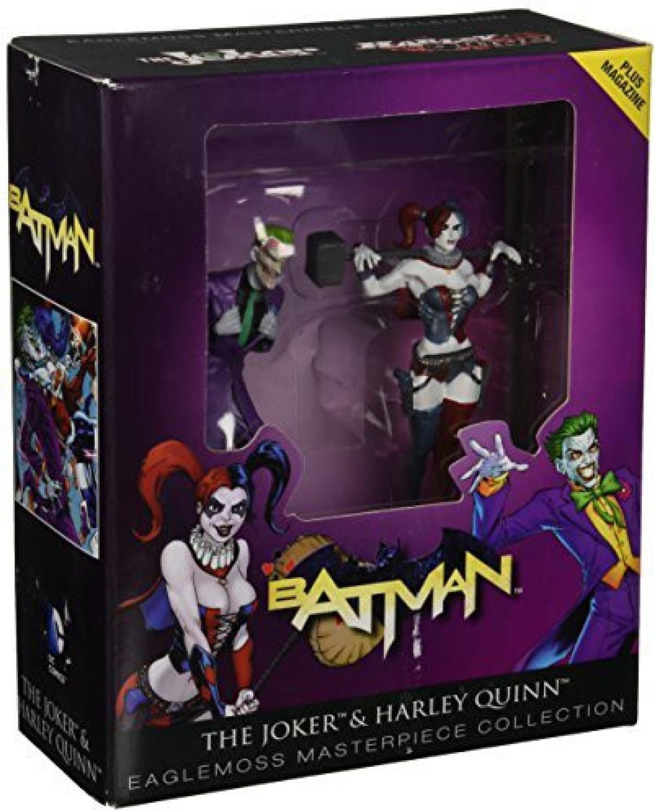 DC BATMAN  Animated SERies 3.75 Figure COLLECTION  #3 HARLEY QUINN EAGLEMOSS NEW