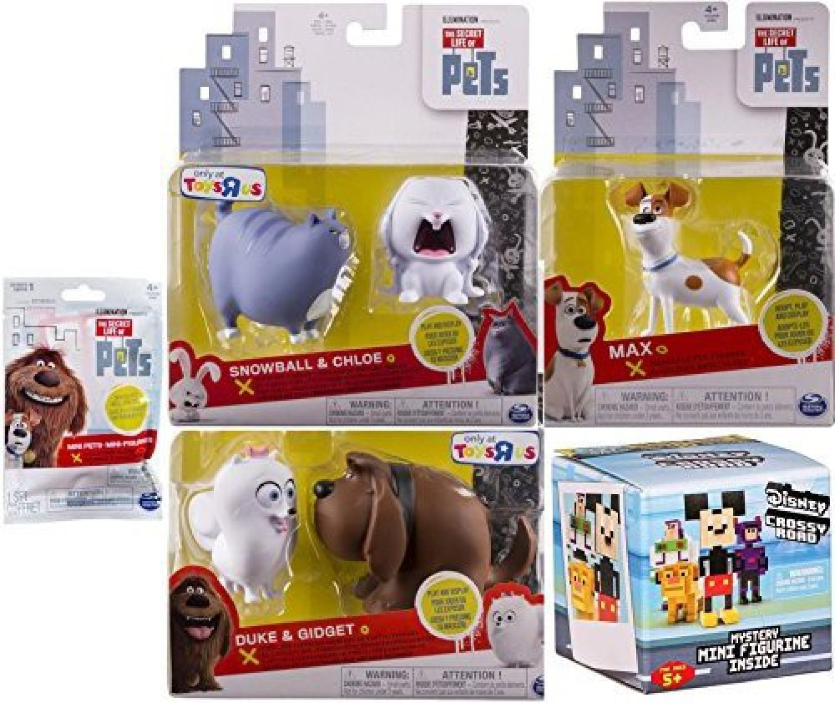a85e1f73ddd4 AYB Products The Secret Life of Pets Figure Set Max the Dog + ...