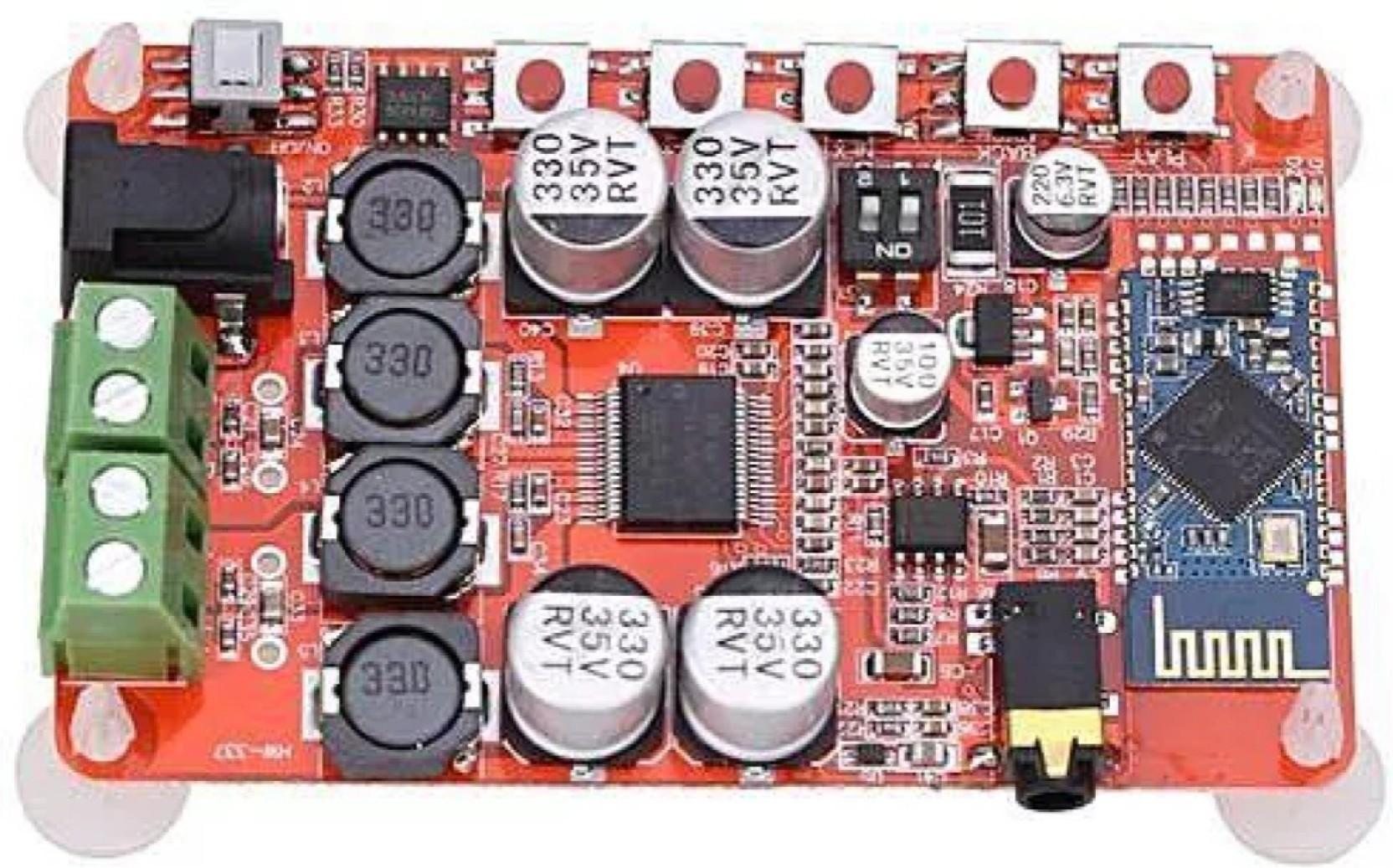 Kitsguru Tda7492p 50w Csr8635 Bluetooth 40 Audio Receiver 30w Stereo Power Amplifier Based Tda 1521 Digital Board Electronic Components Add To Cart