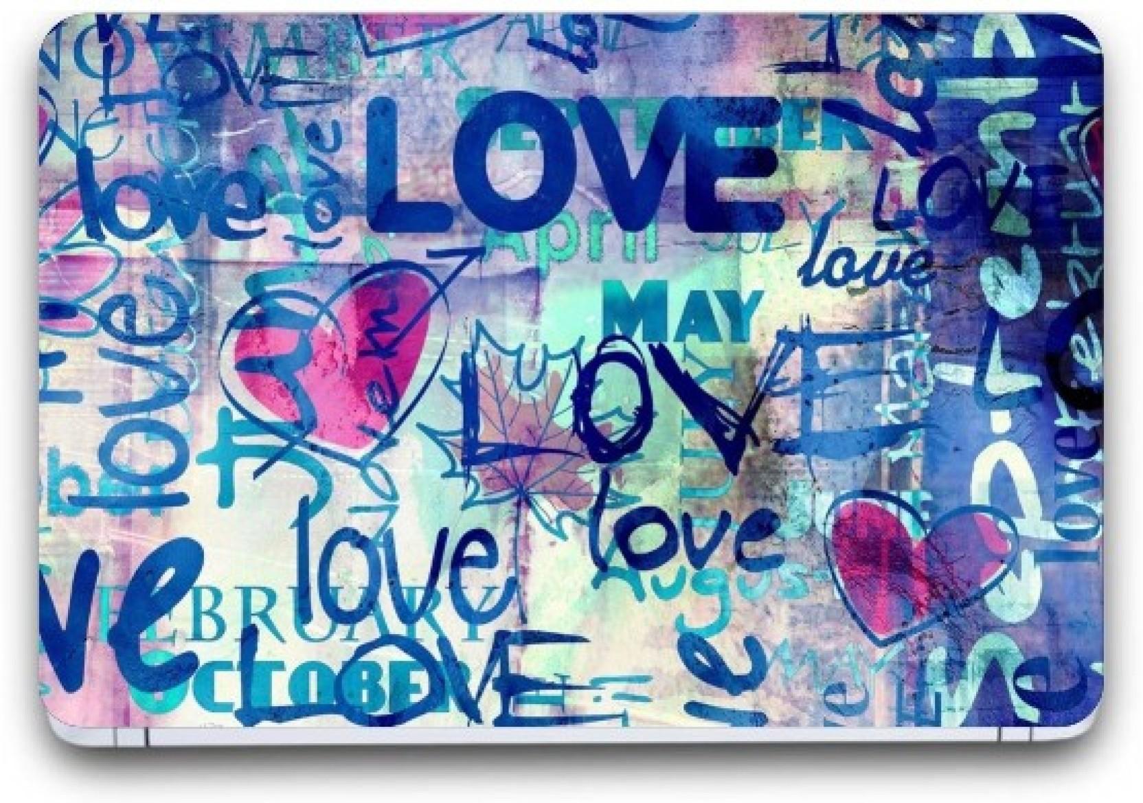 Punix Love Wallpaper Exclusive Laptop Skin Sticker Decal Wallpaper