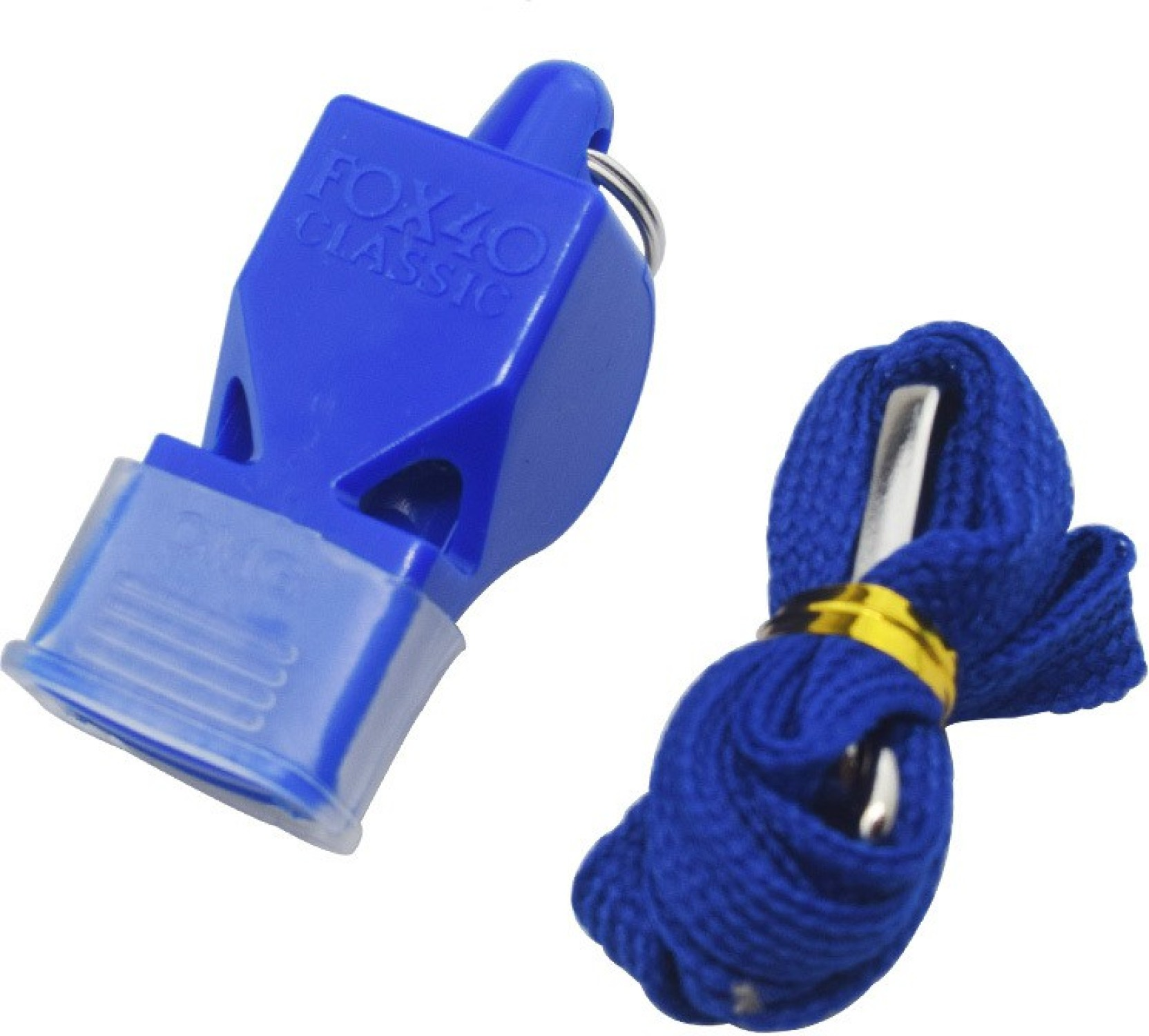 Fox40 Classic Sports Whistle with Finger Ring