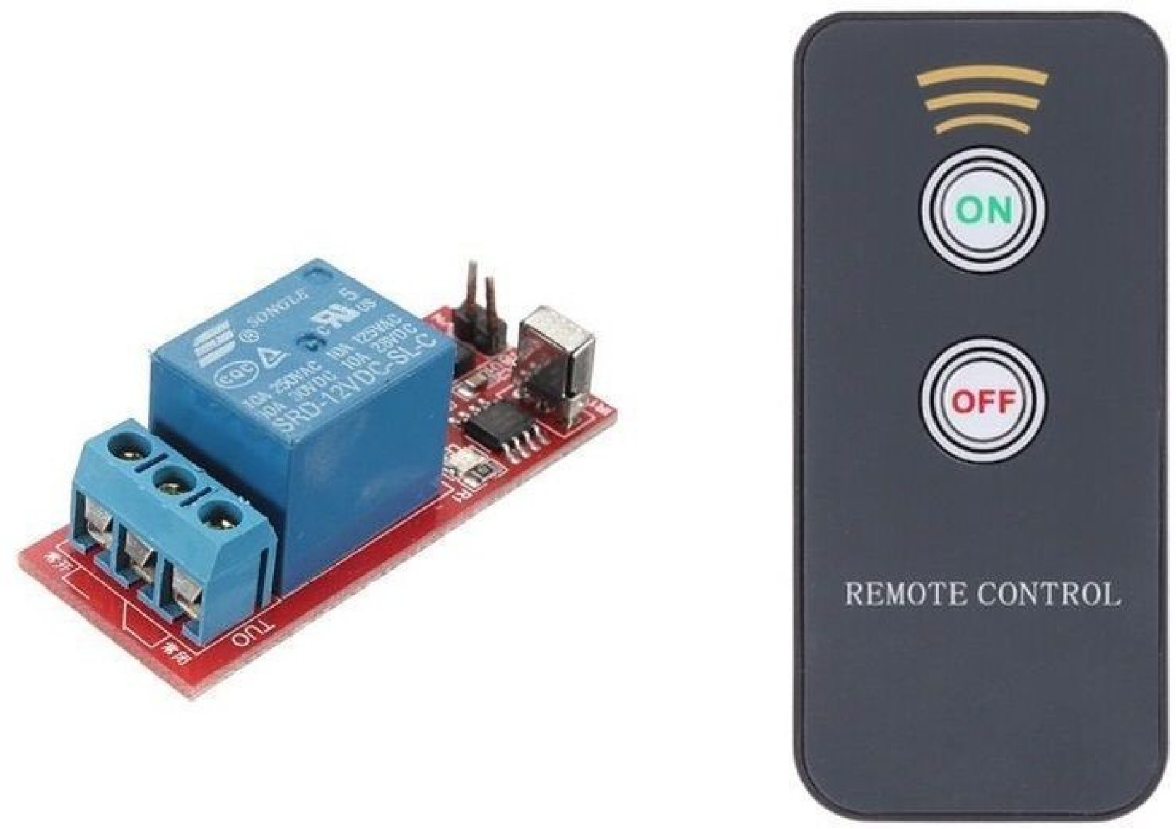 Arduino M199 1 Channel Infrared Switch Relay Driving Module Board 5v Ac Power With Proximity Sensor Active Remote Electronic Components Add To Cart