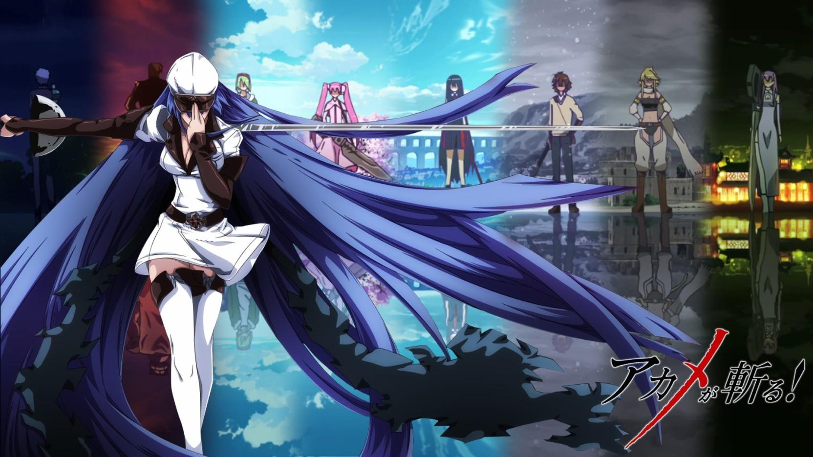 Athah Anime Akame Ga Kill Sheele Leone Tatsumi Akame Mine Lubbock