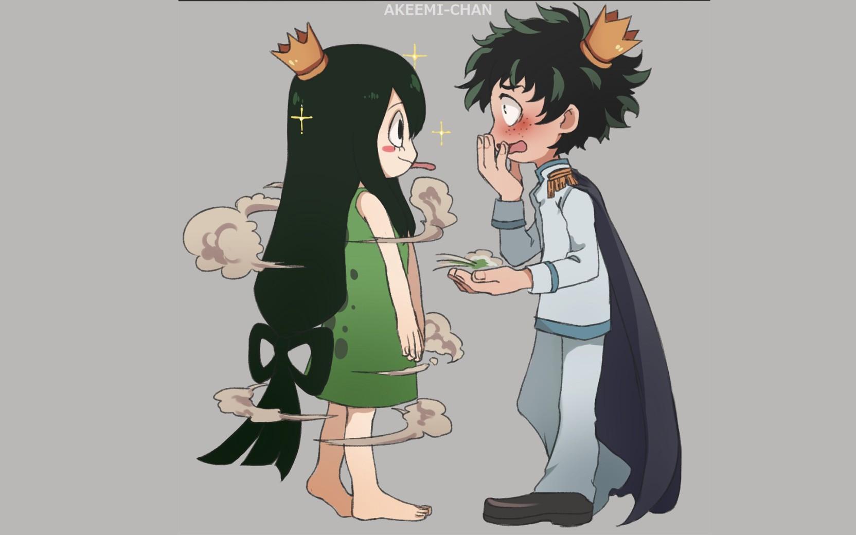 Athah Anime My Hero Academia Izuku Midoriya Tsuyu Asui 13 19