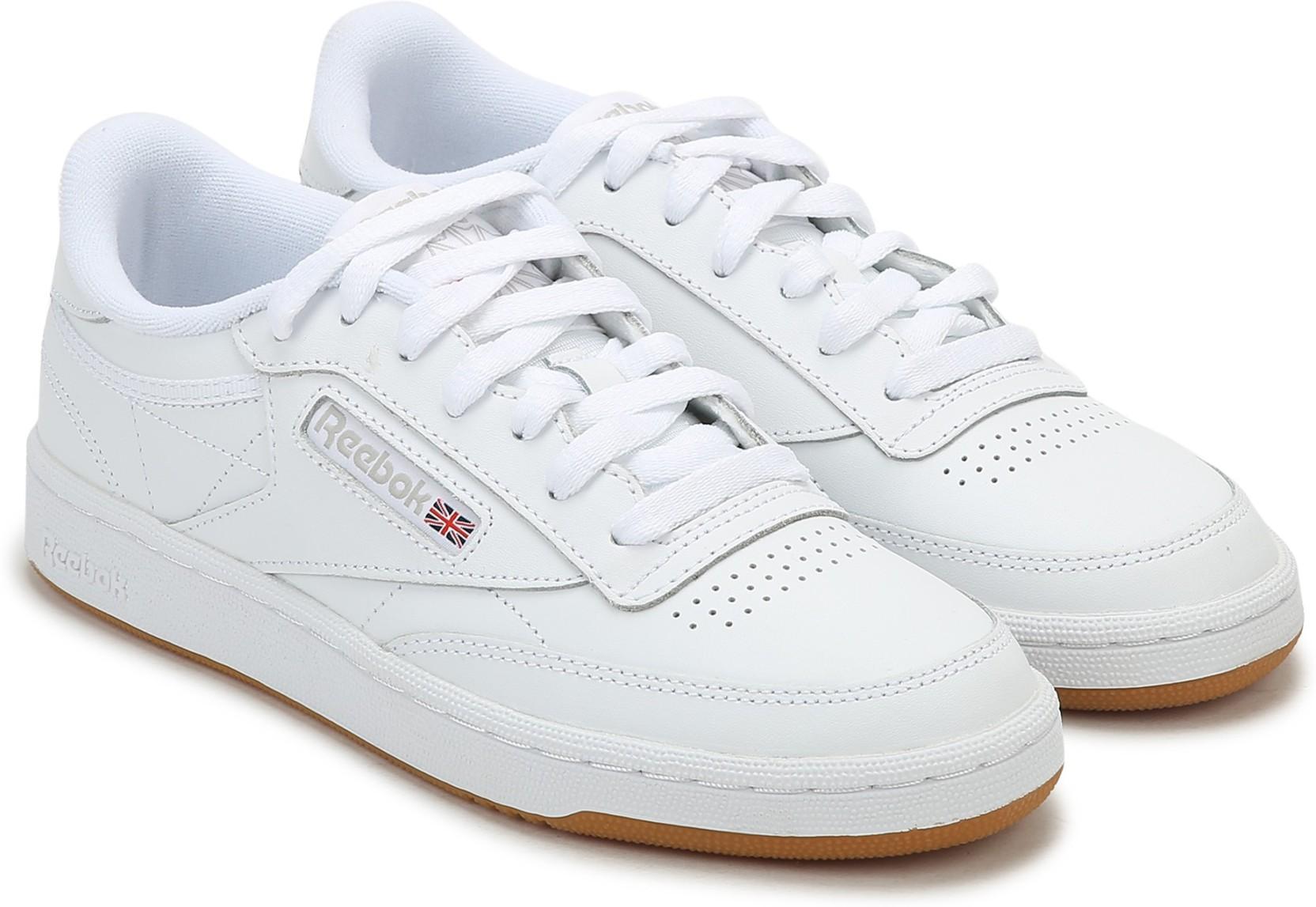 c0bca44b58c9 REEBOK CLASSICS CLUB C 85 Sneakers For Women - Buy WHITE LIGHT GREY ...
