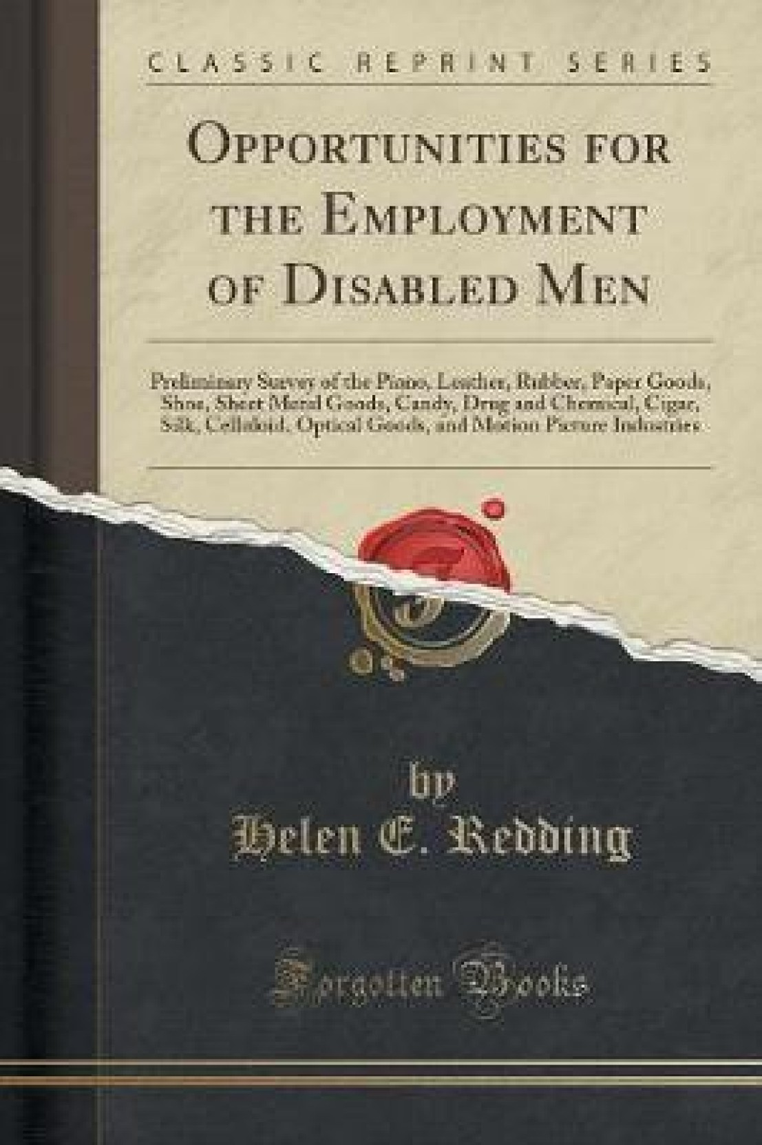 Opportunities For The Employment Of Disabled Men Buy Opportunities