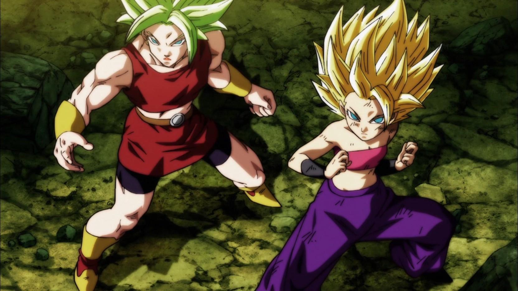 Athah Anime Dragon Ball Super Dragon Ball Kale Caulifla Super