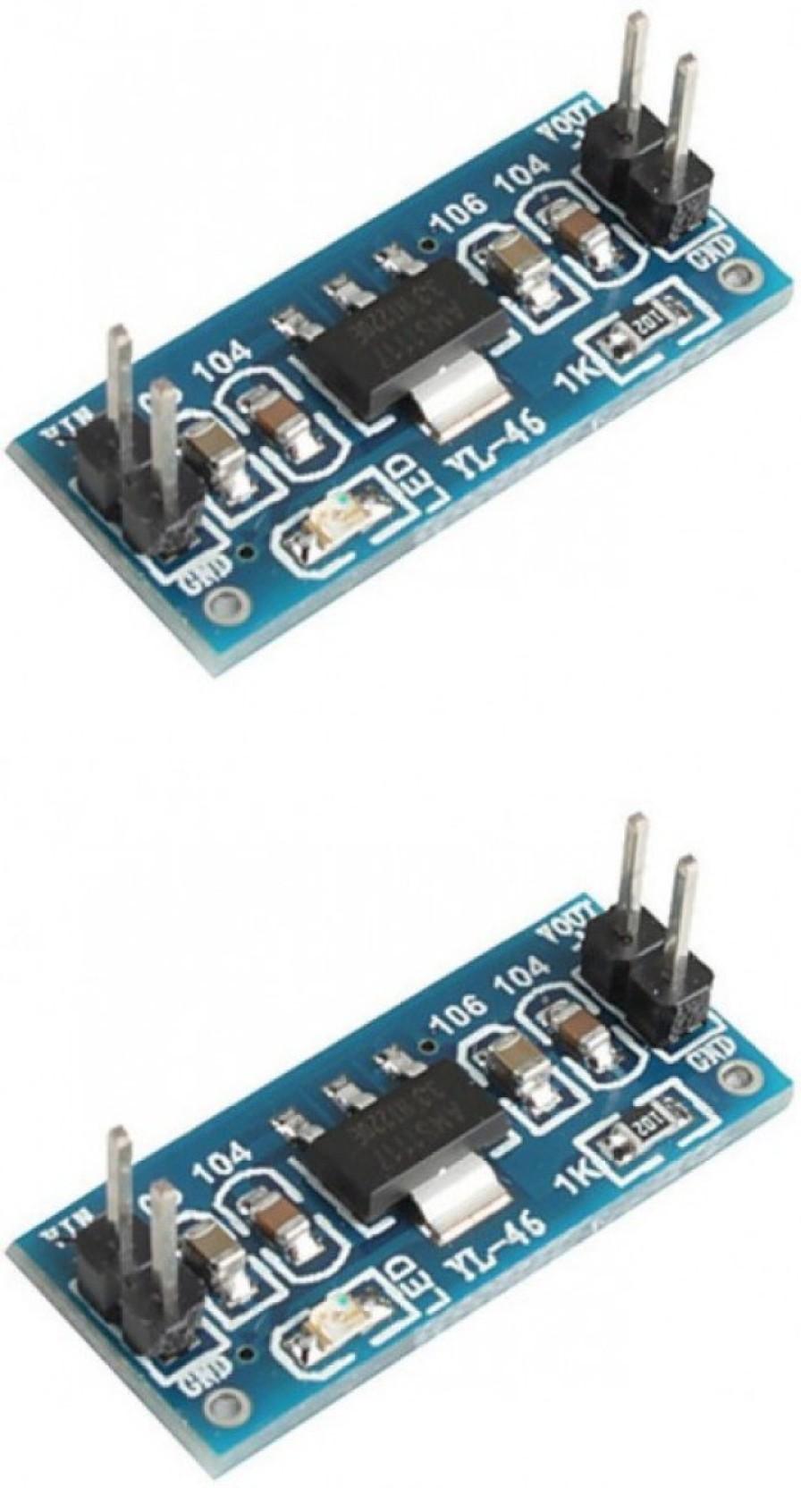 Kitsguru Dc Step Down Voltage Regulator 5 Volt Power Supply Circuit Adapter Ams1117 5v Add To Cart