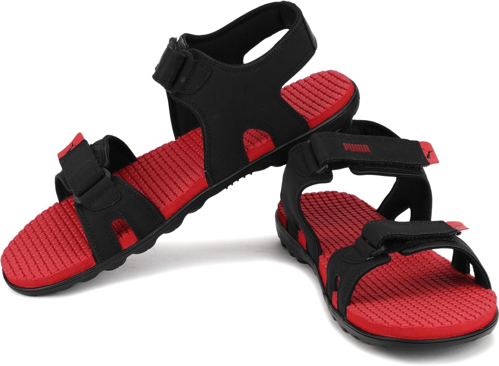 28d9990098f1 Puma Men Black-Ribbon Red Sports Sandals - Buy Puma Men Black-Ribbon ...