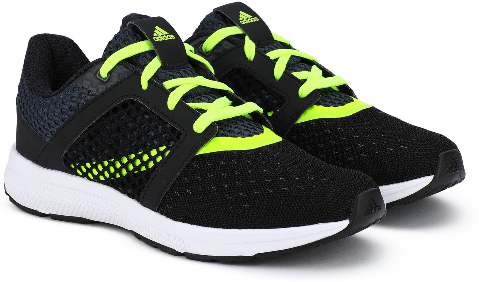 wholesale dealer a9ad6 272b8 ADIDAS YAMO 1.0 M Running Shoes For Men (Black)