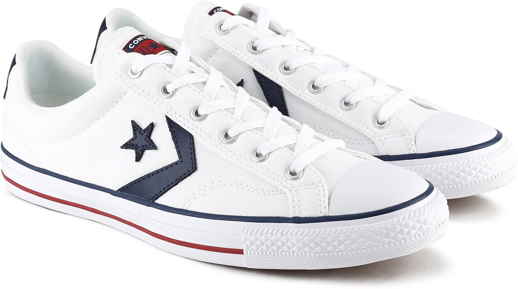 721f87ffe31b Converse 144151C Casuals For Men - Buy WHITE WHITE NAVY Color ...