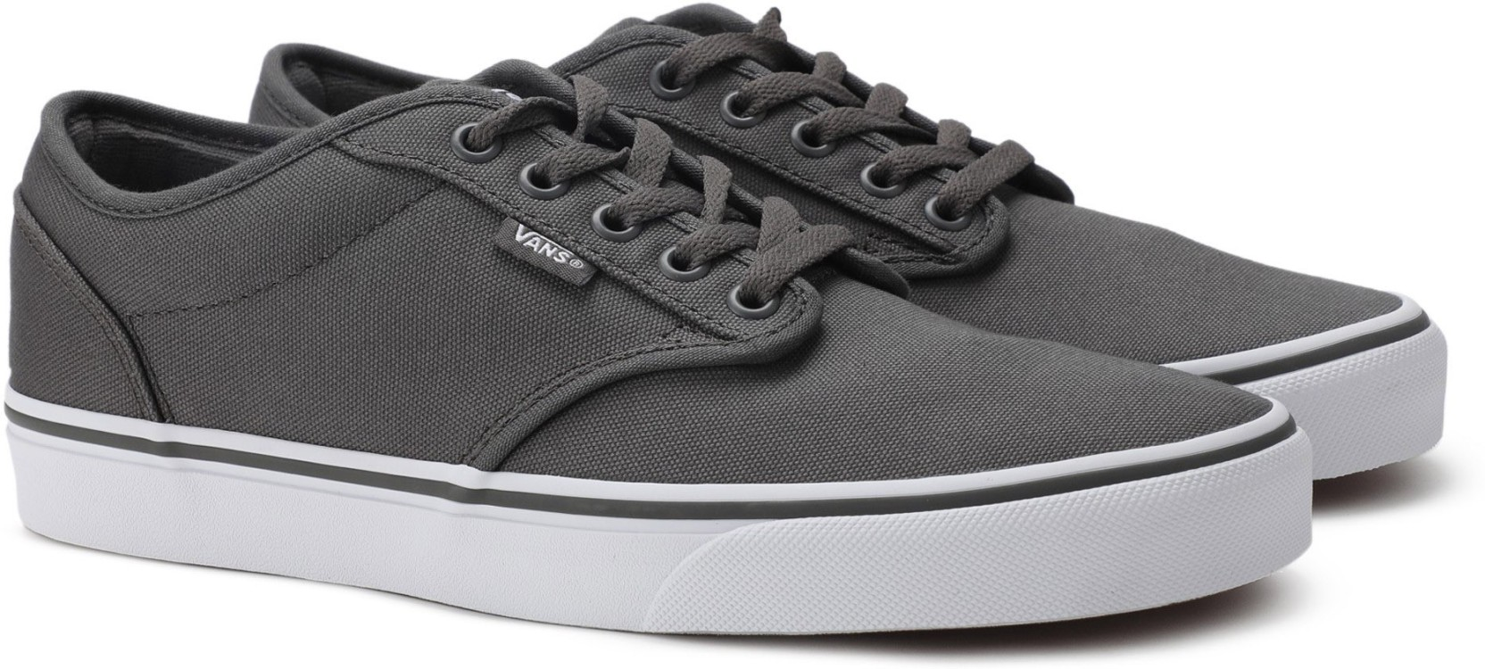 05bdd69a6cae77 Vans Atwood Sneakers For Men - Buy (Canvas) pewter white Color Vans ...