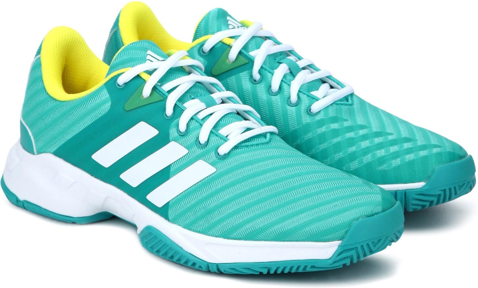 best website 89e38 b52c9 ADIDAS BARRICADE COURT 3 Tennis Shoes For Men (Blue)