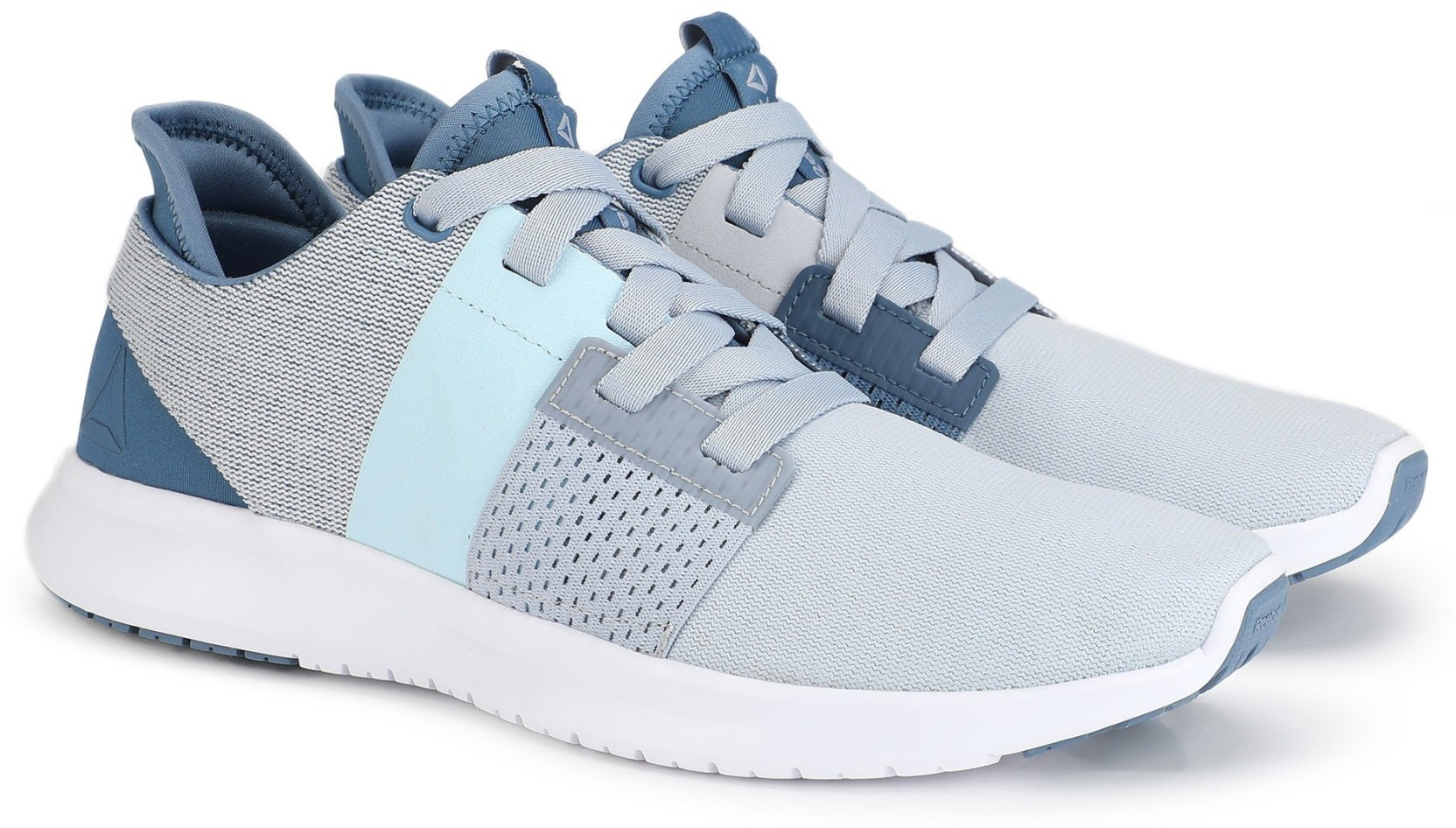 61f49f17f REEBOK REEBOK TRILUX RUN Running Shoes For Women - Buy BLUE GREY ...