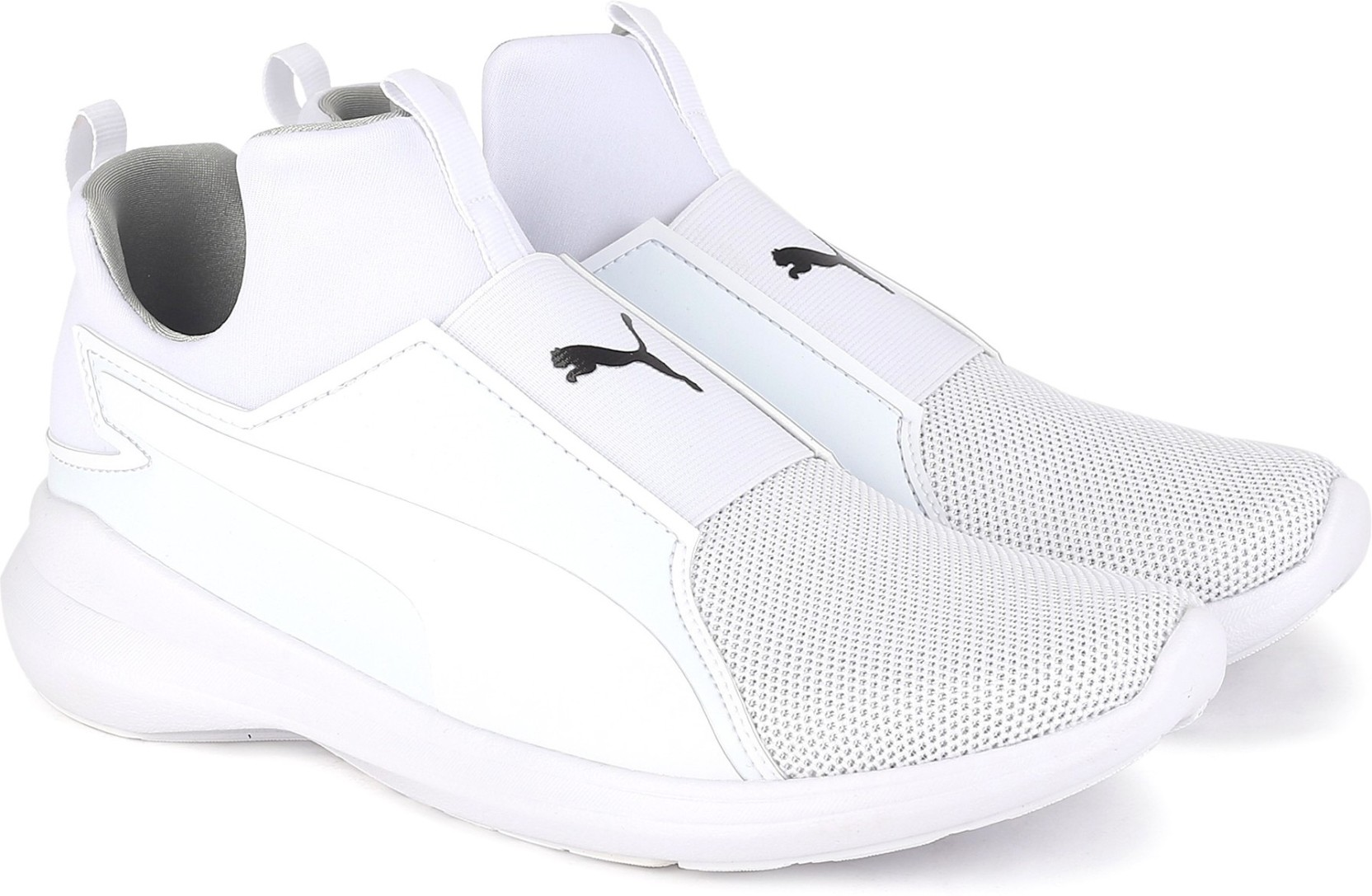 7a806b6ddcd4 Puma Puma Rebel Mid Core Sneakers For Women - Buy Puma White-Puma ...