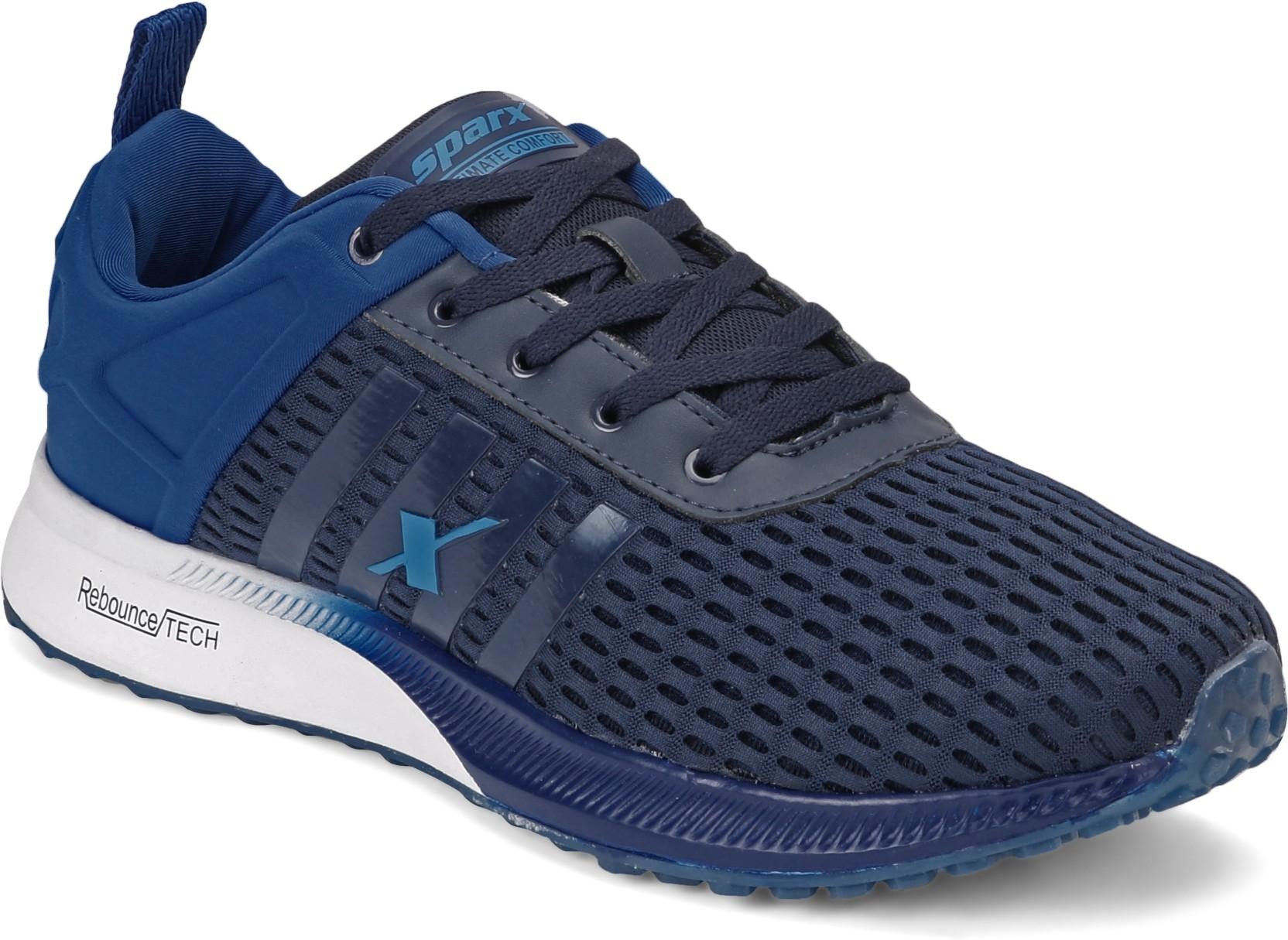 Sparx Men Sm 382 Navy Blue Royal Blue Walking Shoes For Men Buy