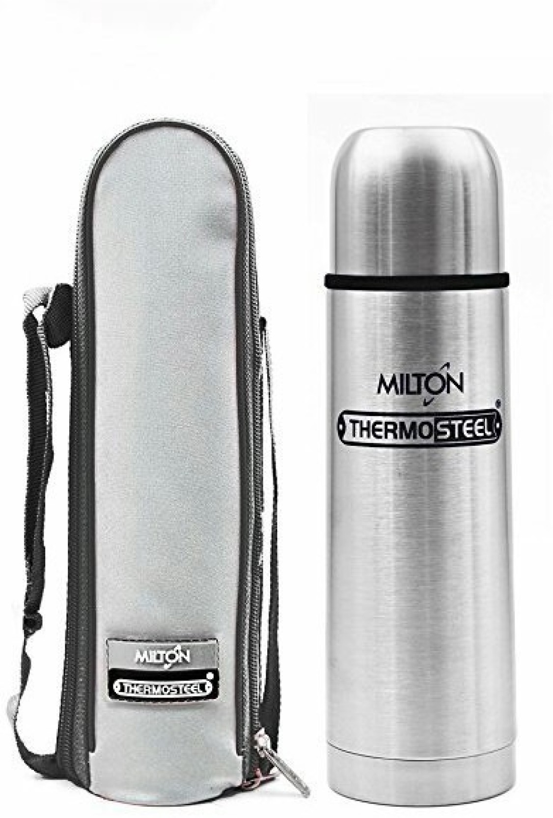 ade1473aae2 Milton Flip lid thermosteel 750ml bottle (24 hours cooling capacity) 750 ml  Flask (Pack of 1