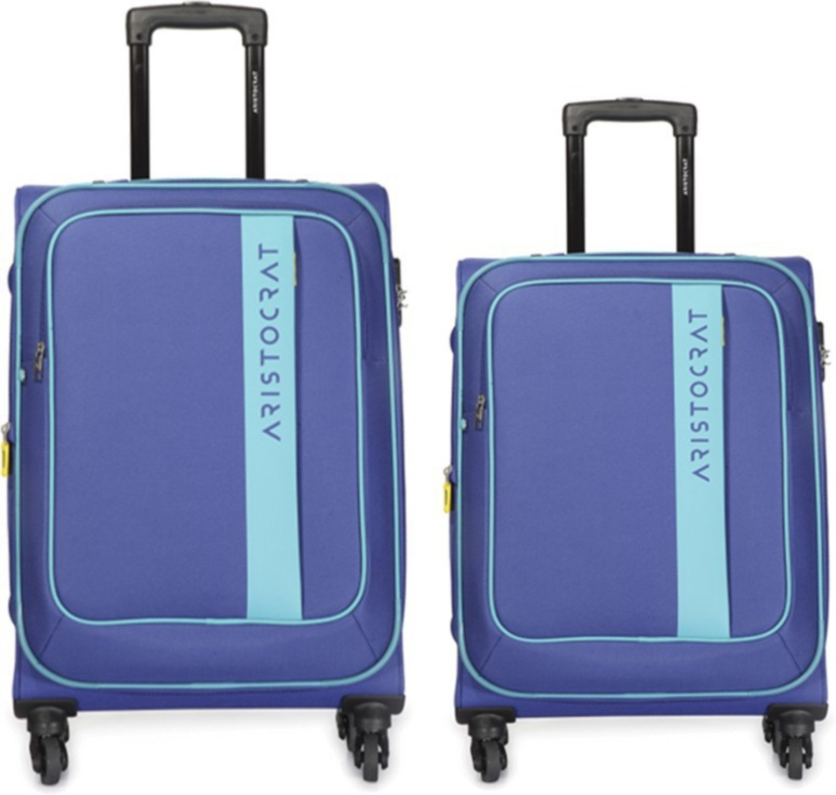 48a11dc6e723 Aristocrat dter new Expandable Check-in Luggage - 26 inch Blue ...