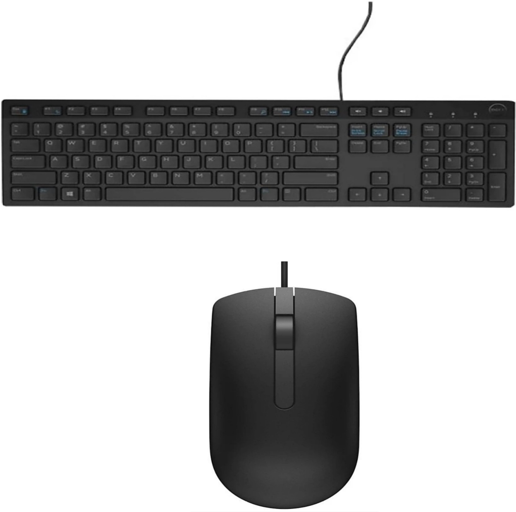Dell keyboard and mouse set *New In Box* Multimedia keyboard and optical mouse