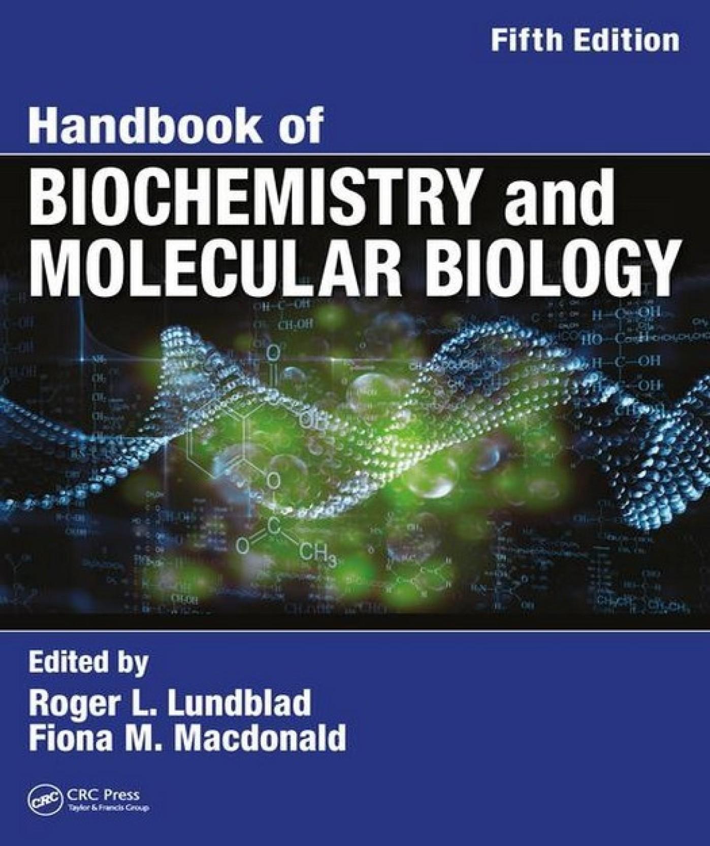 Image result for handbook of biochemistry and molecular biology