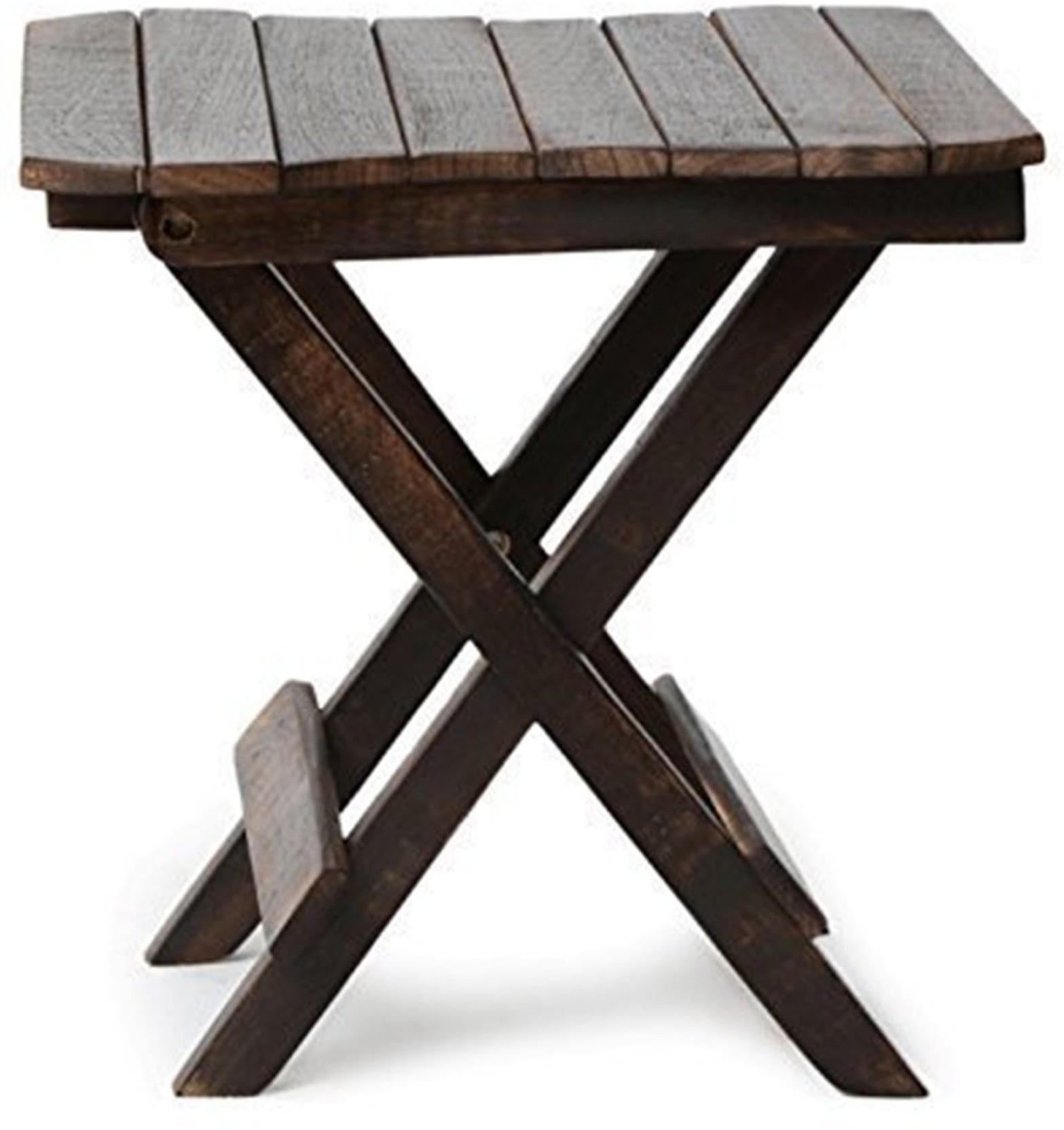 Trustshoppee Handmade Wooden Handicraft Folding Coffee Table