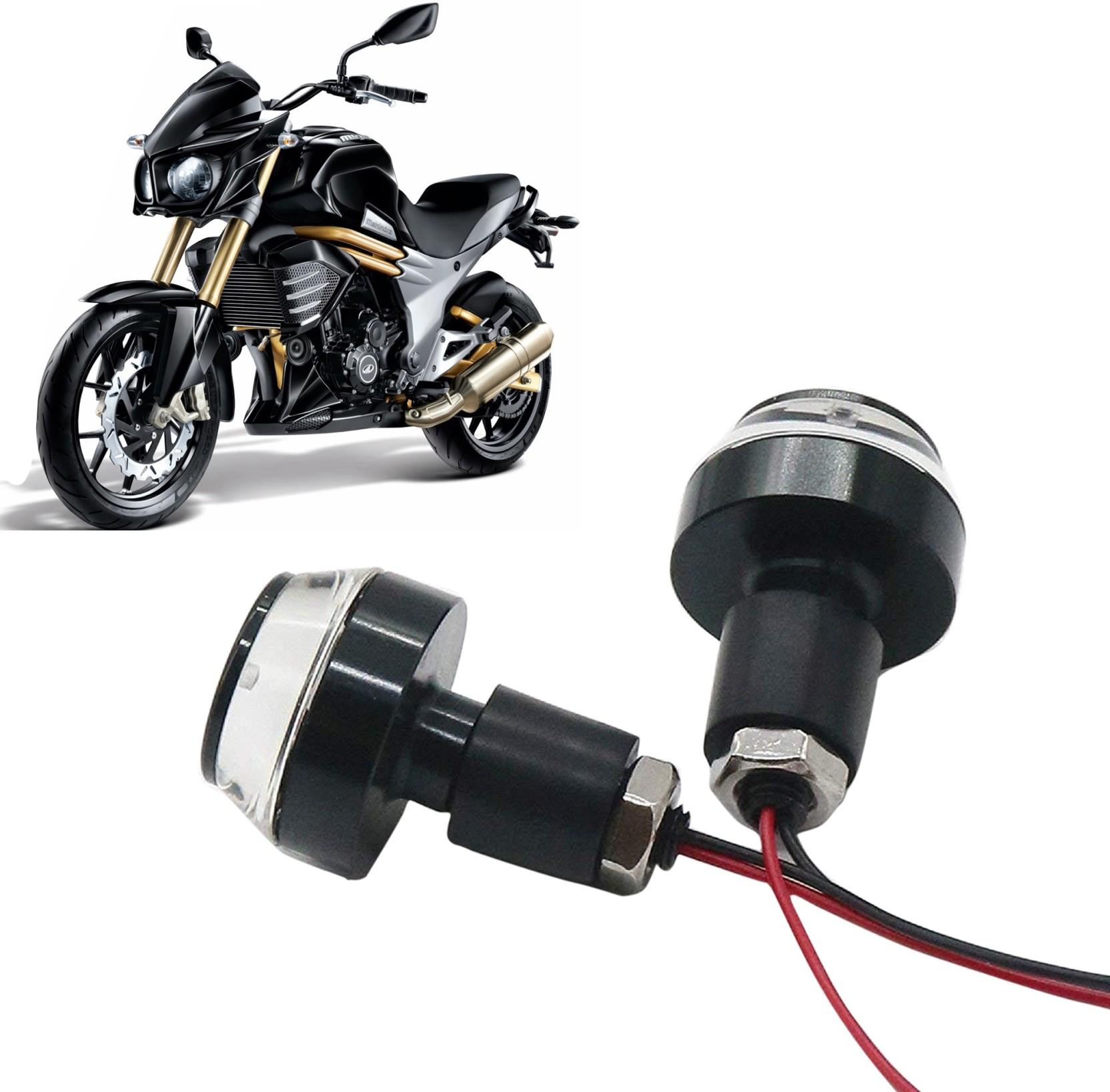 Shop4u suitable for piaggio vespa elegante 150 bike handlebar weights 2 whiteblue