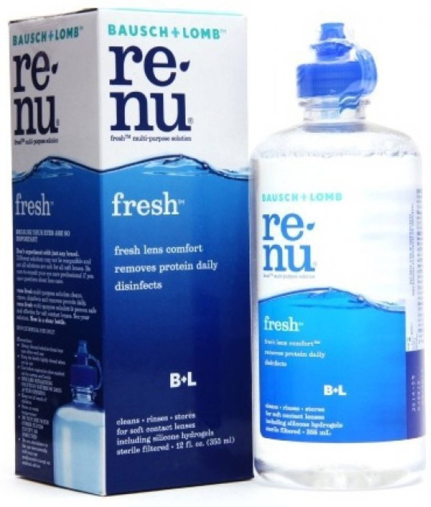 Renu - a solution for lenses from the company Bausch Lomb