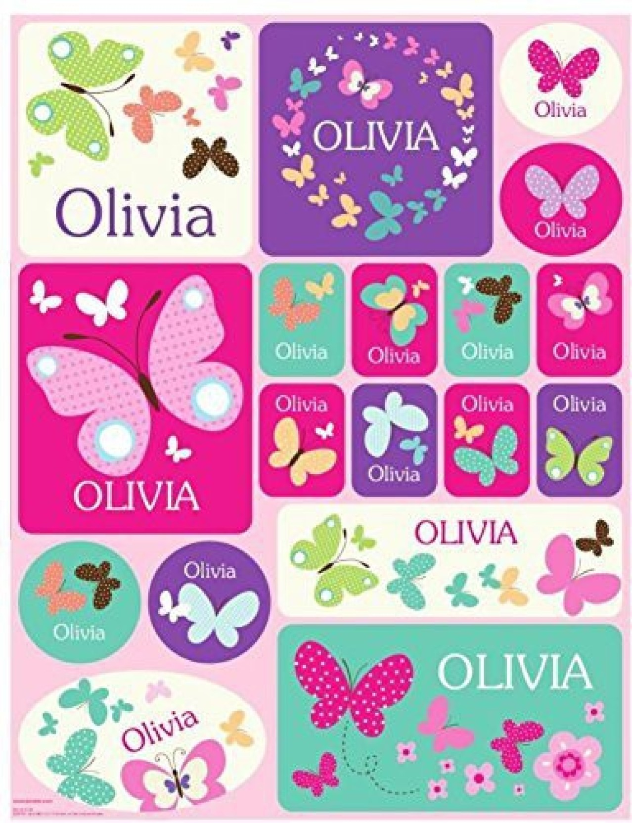 I see me personalized custom name stickers name label name decal