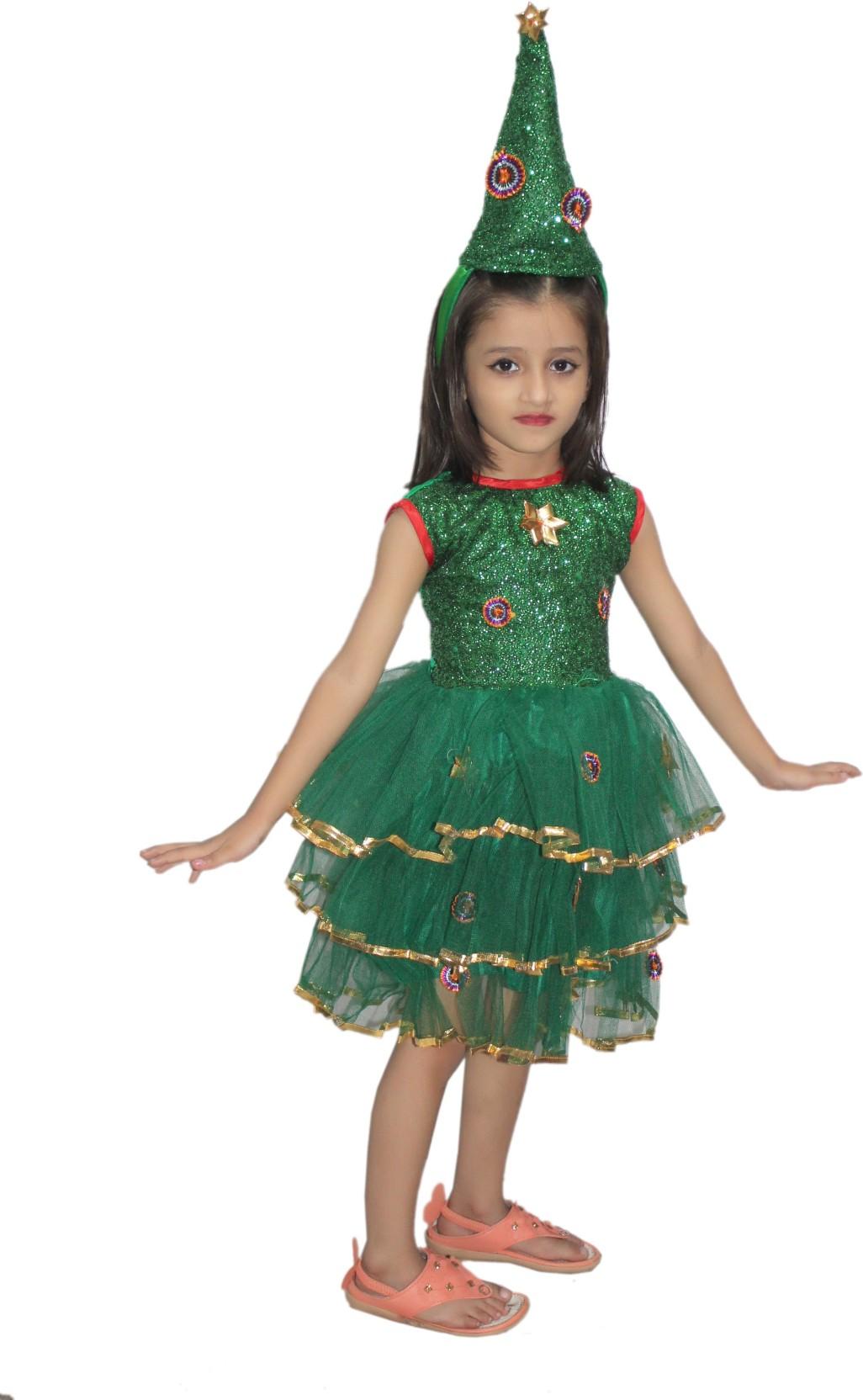 9fe9d589e9 Kaku Fancy Dresses Christmas Frock Kids Costume Wear Price in India ...