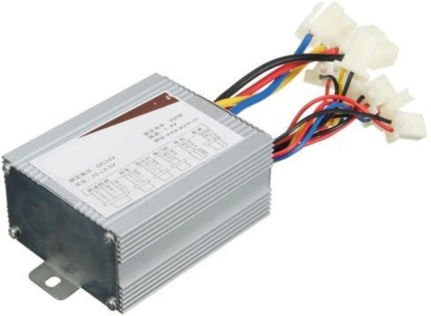KitsGuru Motor Controller for 24v 350W MY1016 DIY Electric