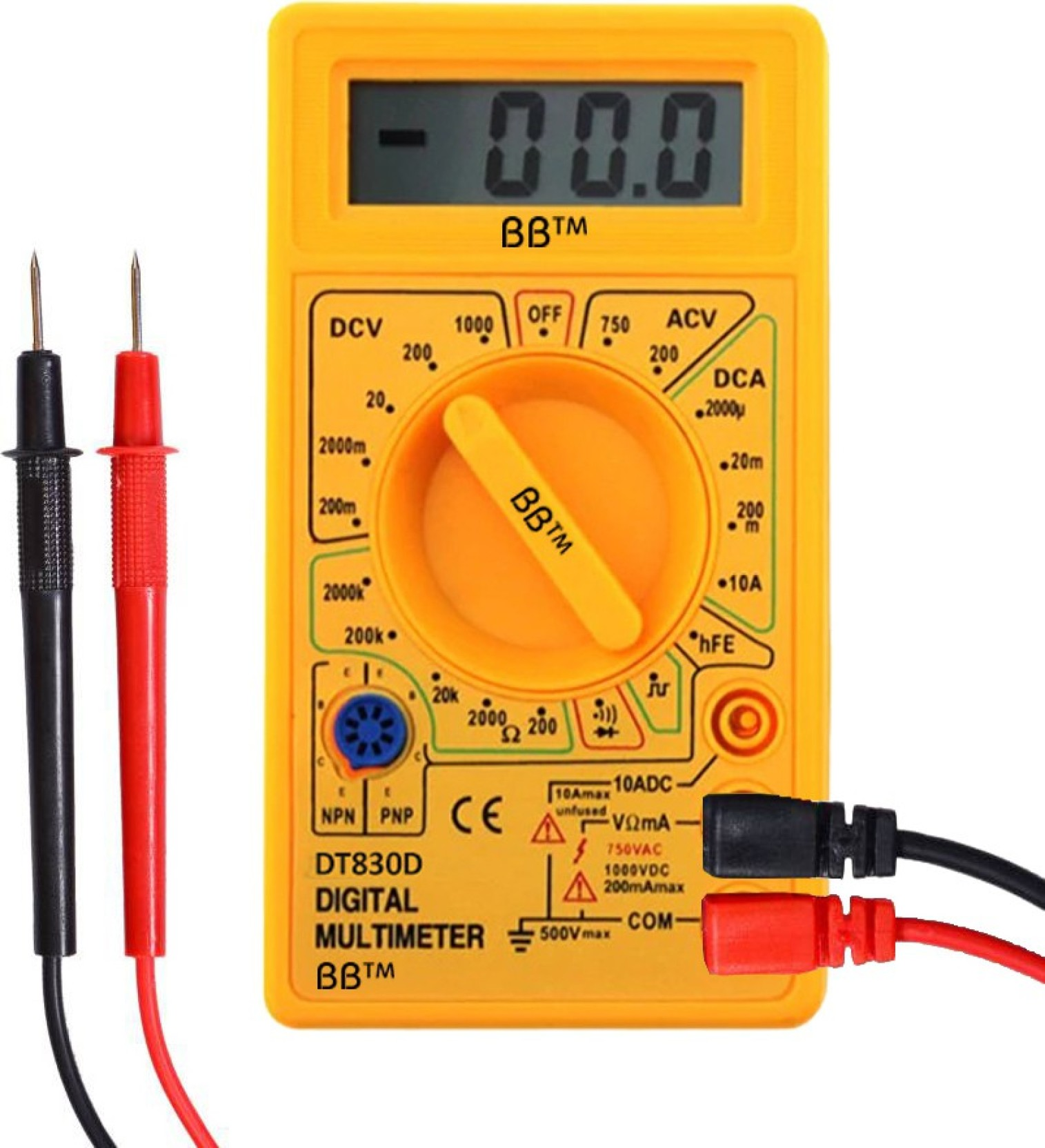 Auto Electrical Wiring Tester Bb Electric Ac Dc Voltmeter Ammeter Ohm Polarity Buzzer On Offer