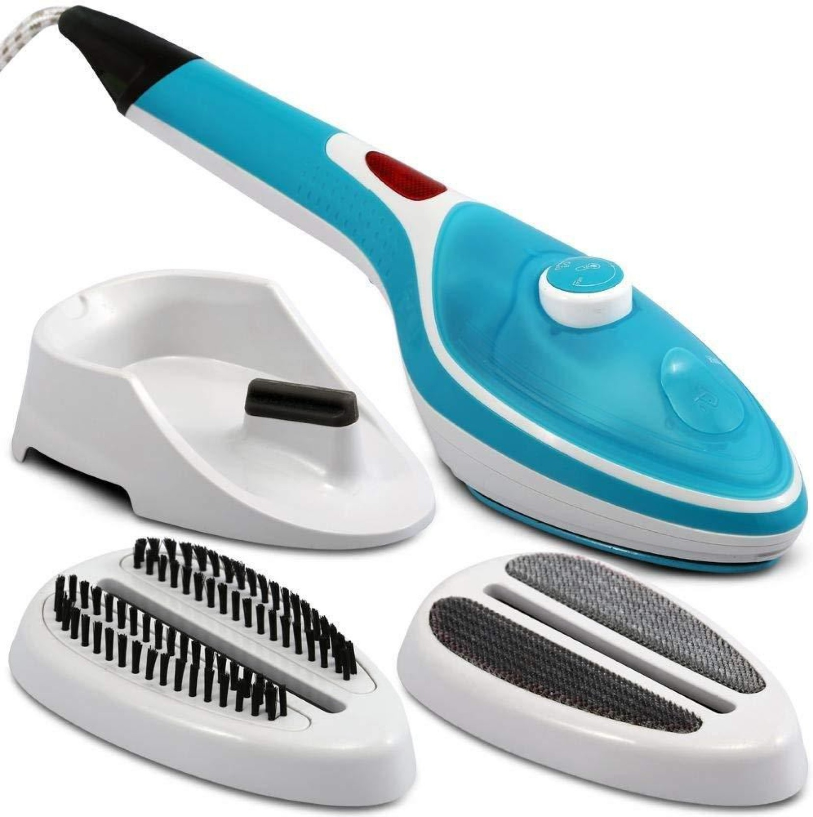 Steam Iron with Power Bank for Home//Travel, Handheld Garment//Fabric Steamer hellowood Portable Steamer for Clothes