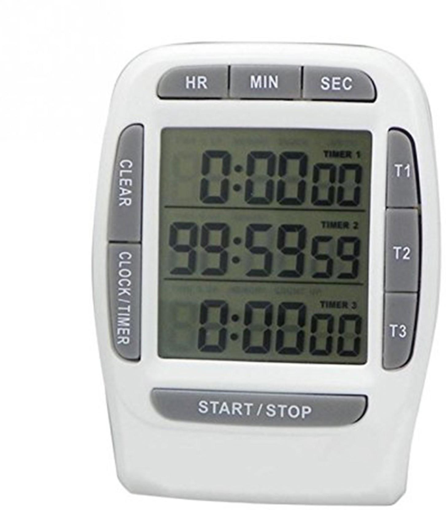 Triple Display Alarm Clock - Arm Designs