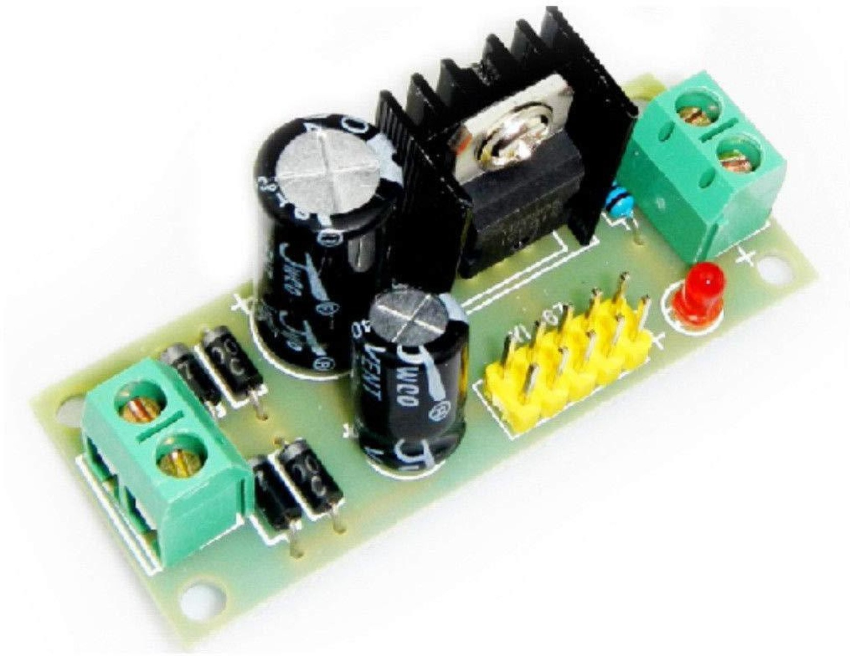 Arduino M418 L7805 Lm7805 Three Terminal Voltage Regulator Module 5v Links Dc Power Supply Variable Regulated Electronic Hobby Kit Add To Cart