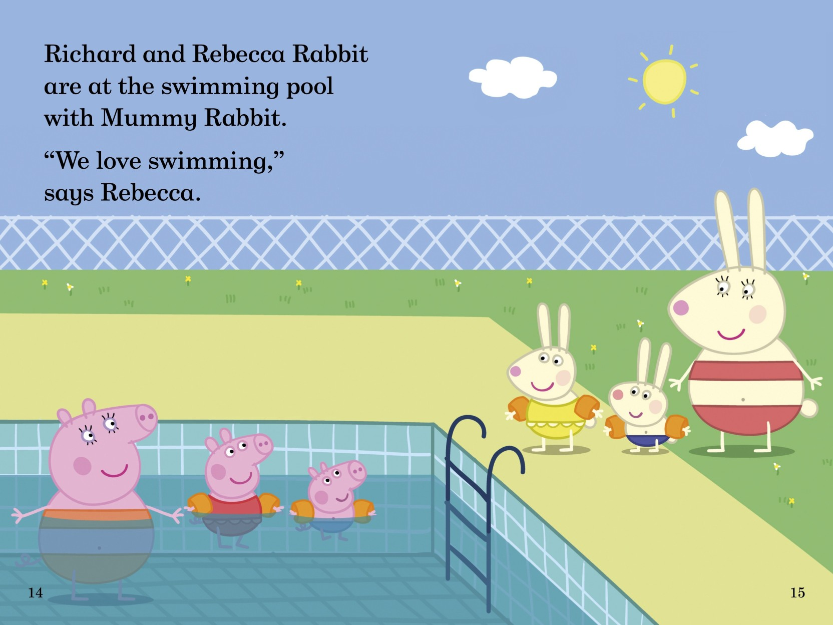 Peppa Pig Going Swimming Read It Yourself With Ladybird Level 1