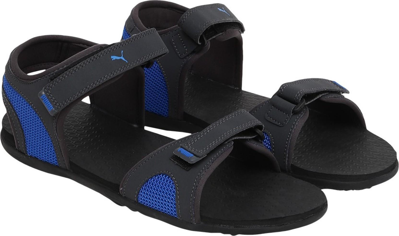 Puma Men Asphalt-Sargasso Sea-Electric Blue Lemonade Sports Sandals. Share 1a06a54e3