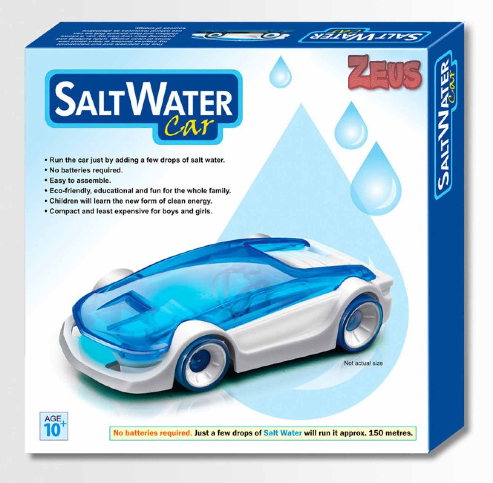 Zeus Salt Water Fuel Cell Car DIY Kit Green Energy