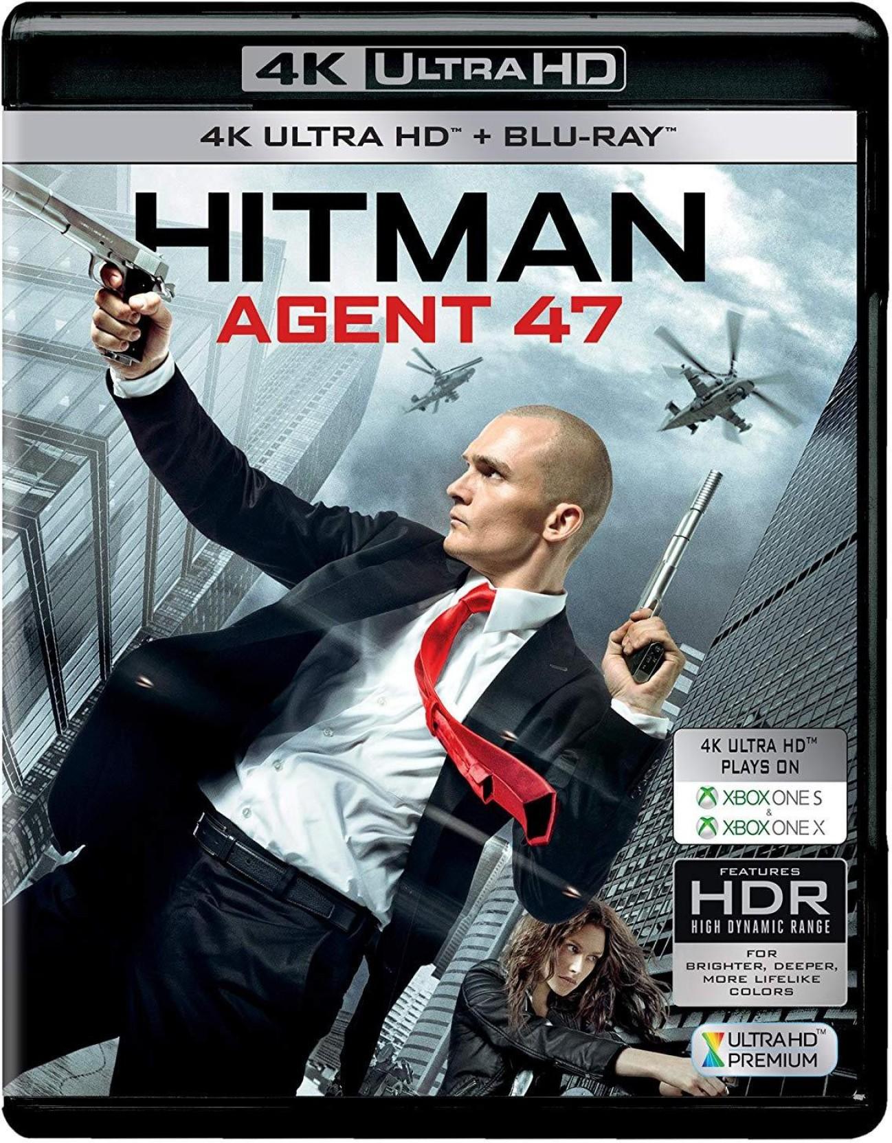 Hitman Agent 47 4k Uhd Hd 2 Disc Price In India Buy