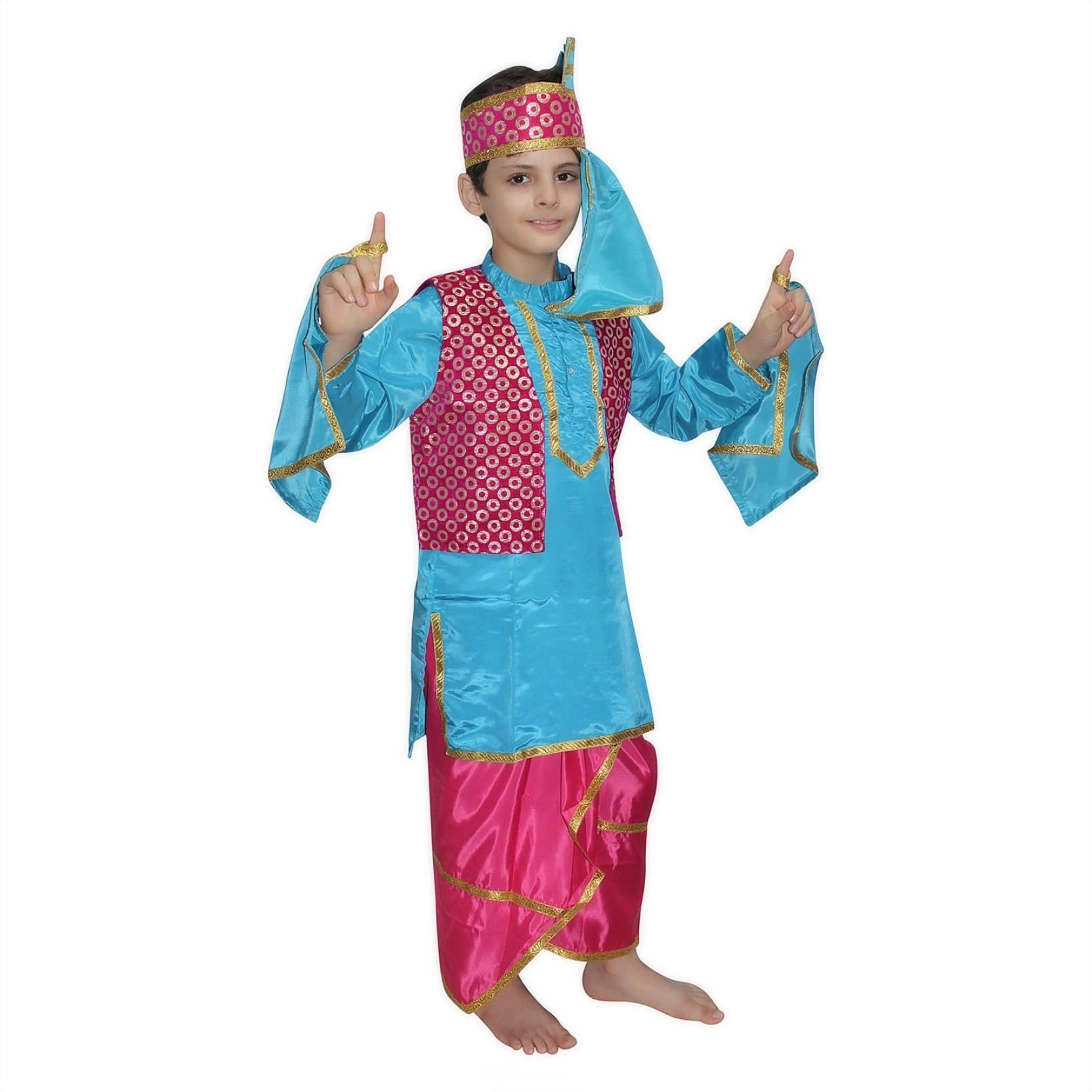 54da48981 Kaku Fancy Dresses Punjabi Boy Costume for Kids Kids Costume Wear ...