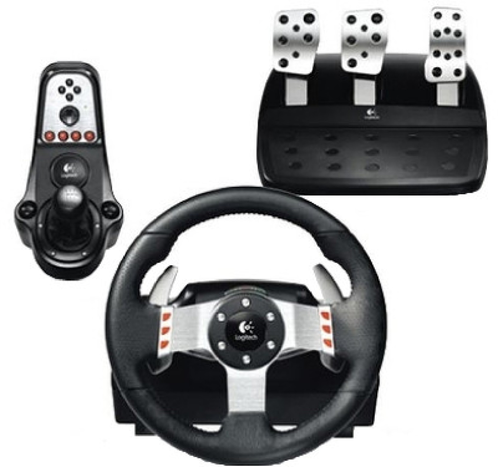 logitech g27 racing wheel logitech. Black Bedroom Furniture Sets. Home Design Ideas