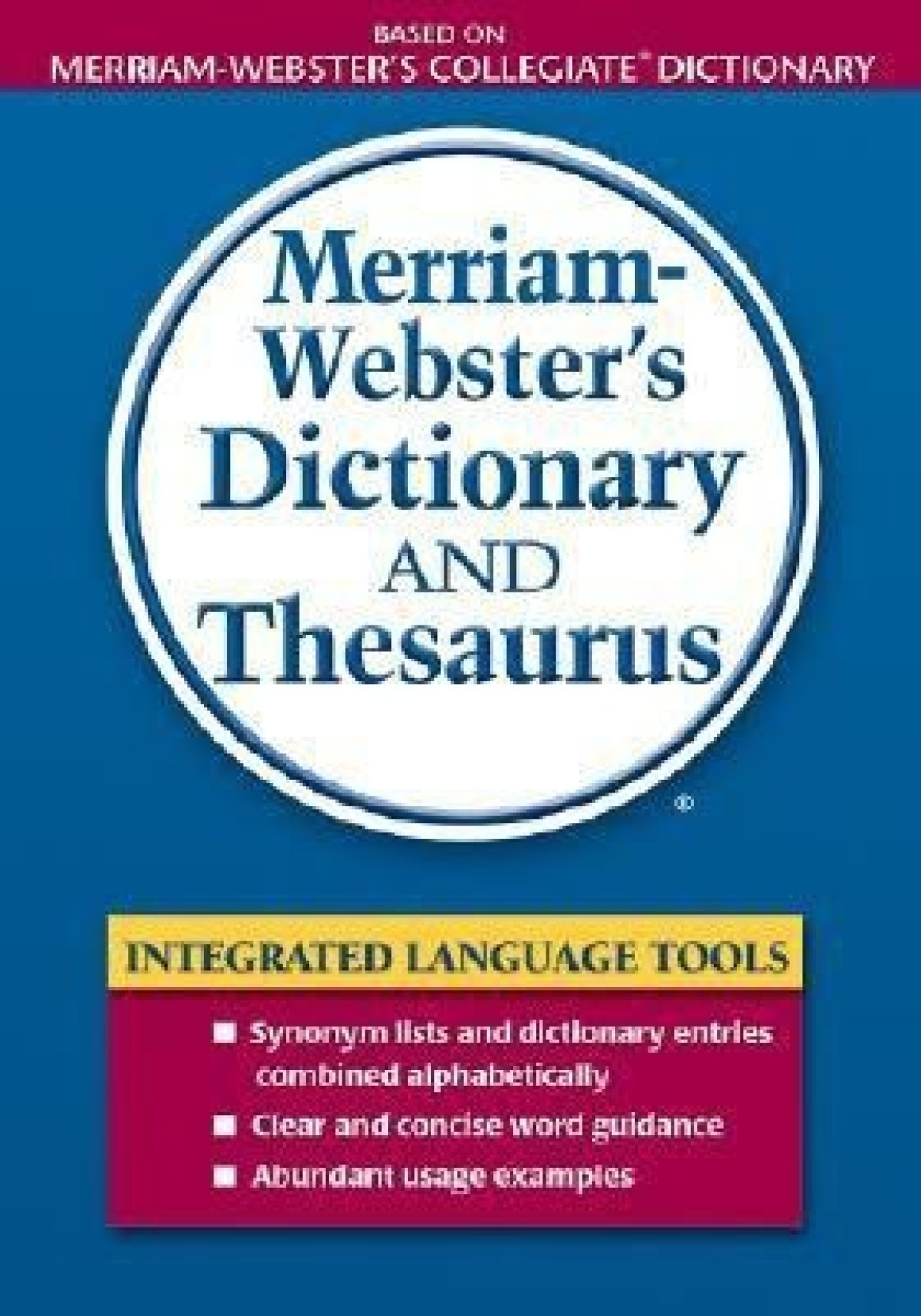 Merriam Webster's Dictionary and Thesaurus. ADD TO CART
