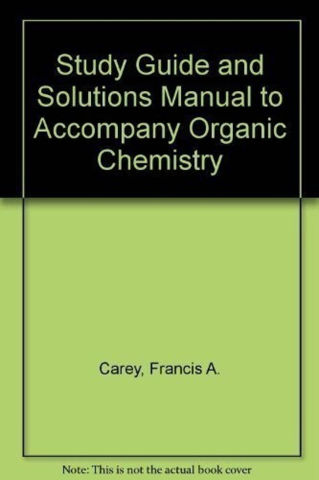 ... Solutions Manual to Accompany Organic Chemistry. Share