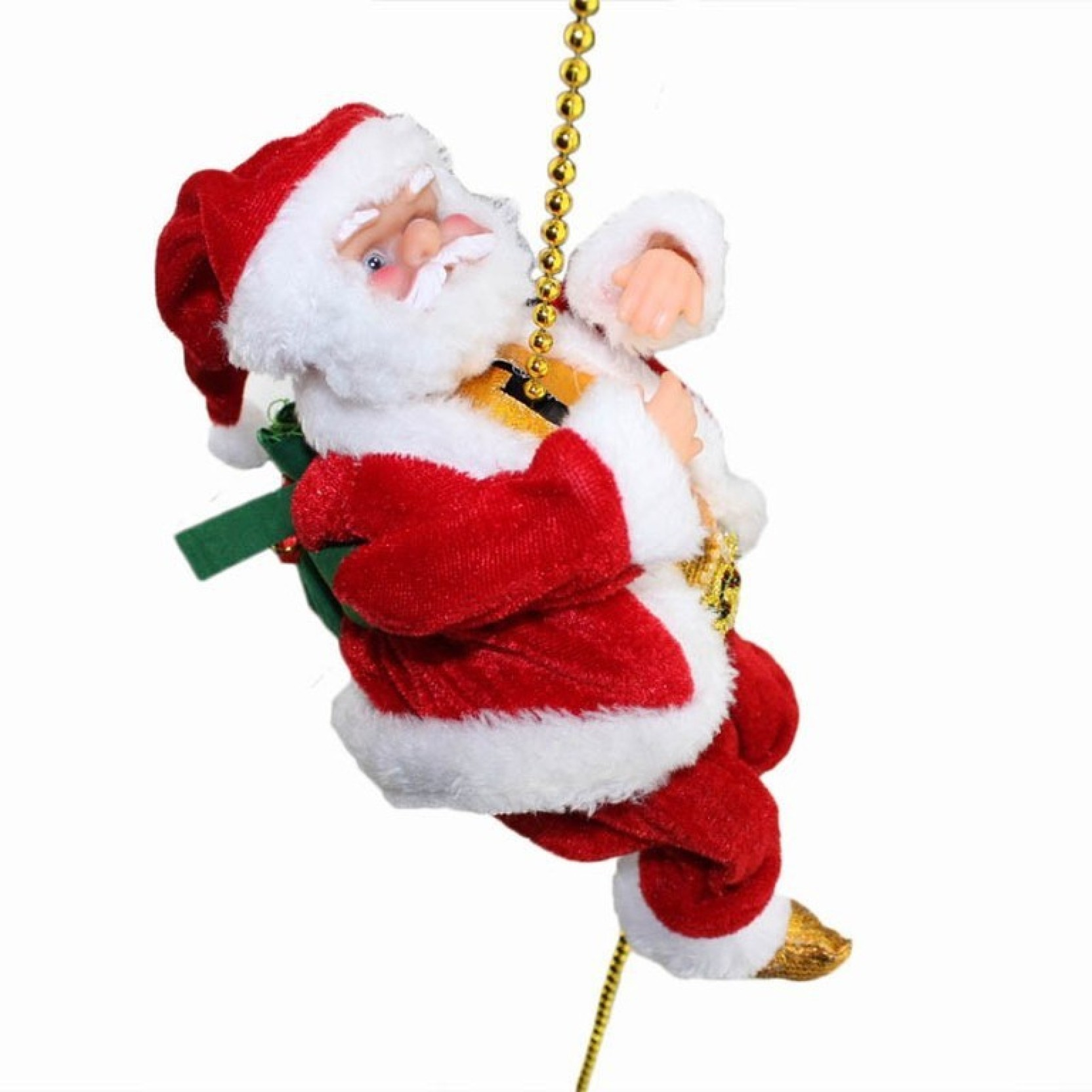 4775d71c8af8e New Jaipur Handicraft Musical Santa Claus Climbing on rope X Mas Gifts  Christmas Toys Santa Claus Toys Electric power toys Christmas gifts for  gifts party ...